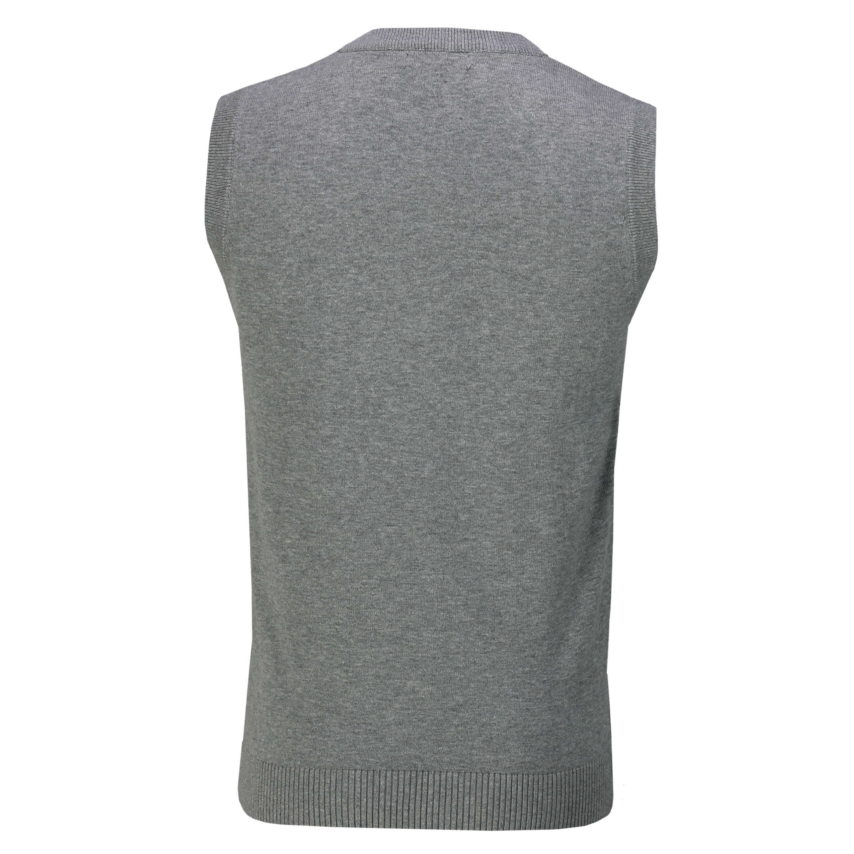 Maglione Da Uomo Senza Maniche V Collo Maglione Smart Casual Slim Fit Tank Top Canotta in jersey