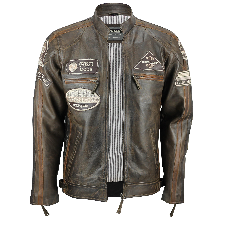 Opti vintage leather jacket