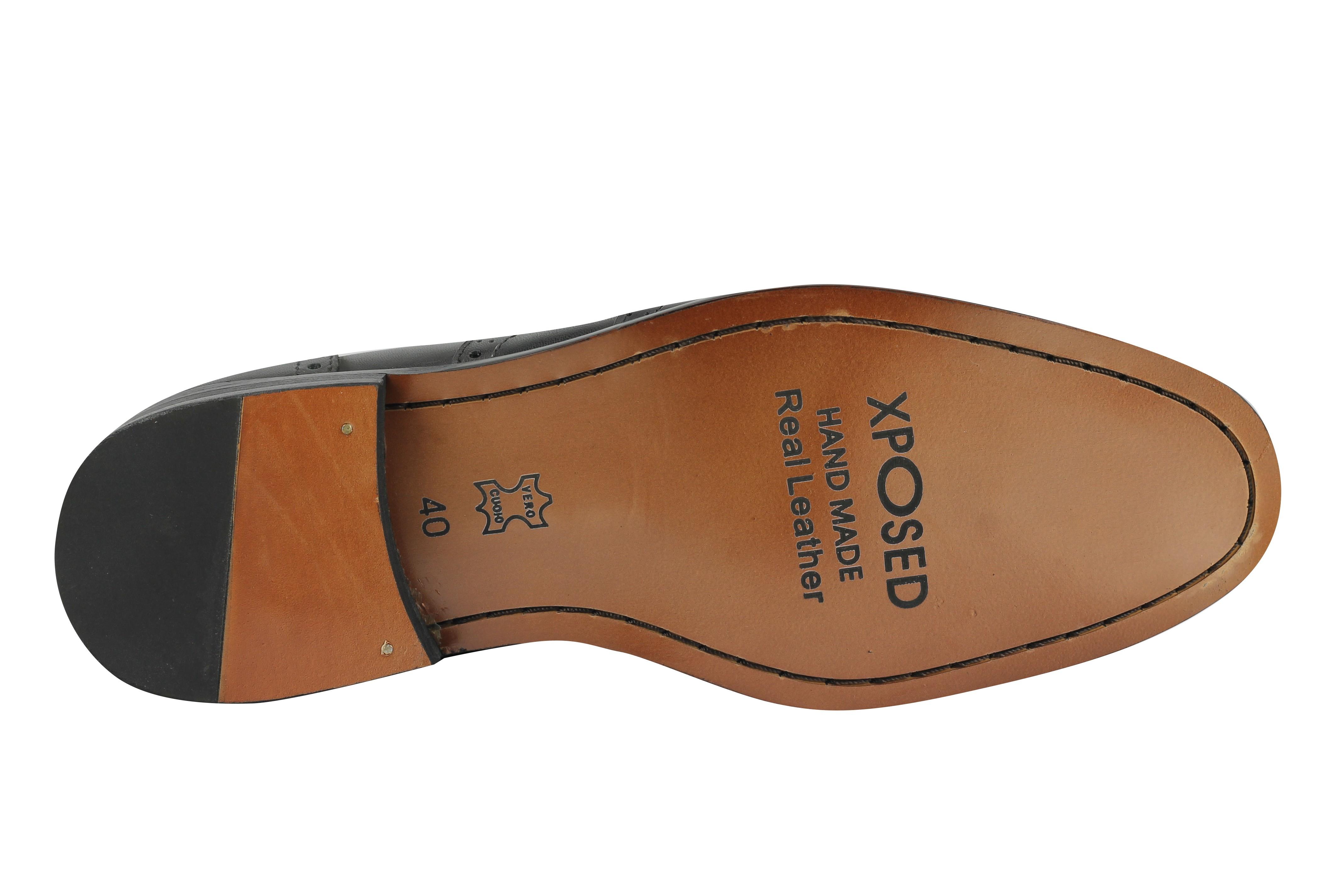 Hommes 1920s vintage en cuir véritable tassel mocassins à enfiler richelieu à chaussures marron noir