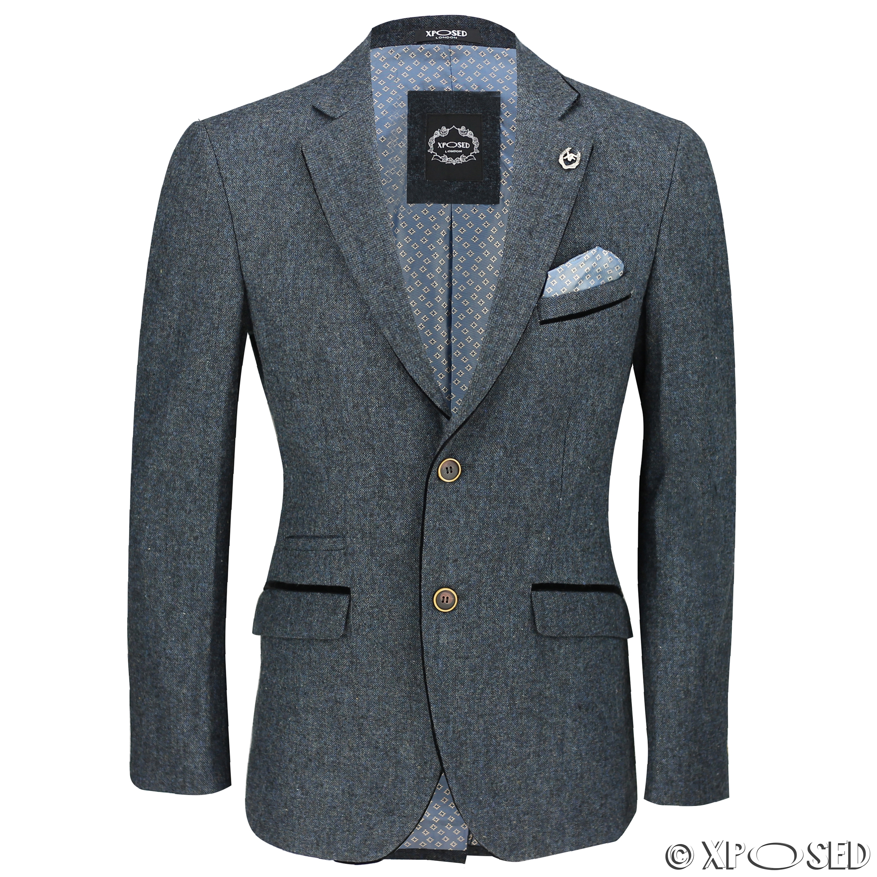 How to wear a blazer and waistcoat as separates. Styling a three-piece suit blazer and waistcoat together is perfect for stylish office and business attire.