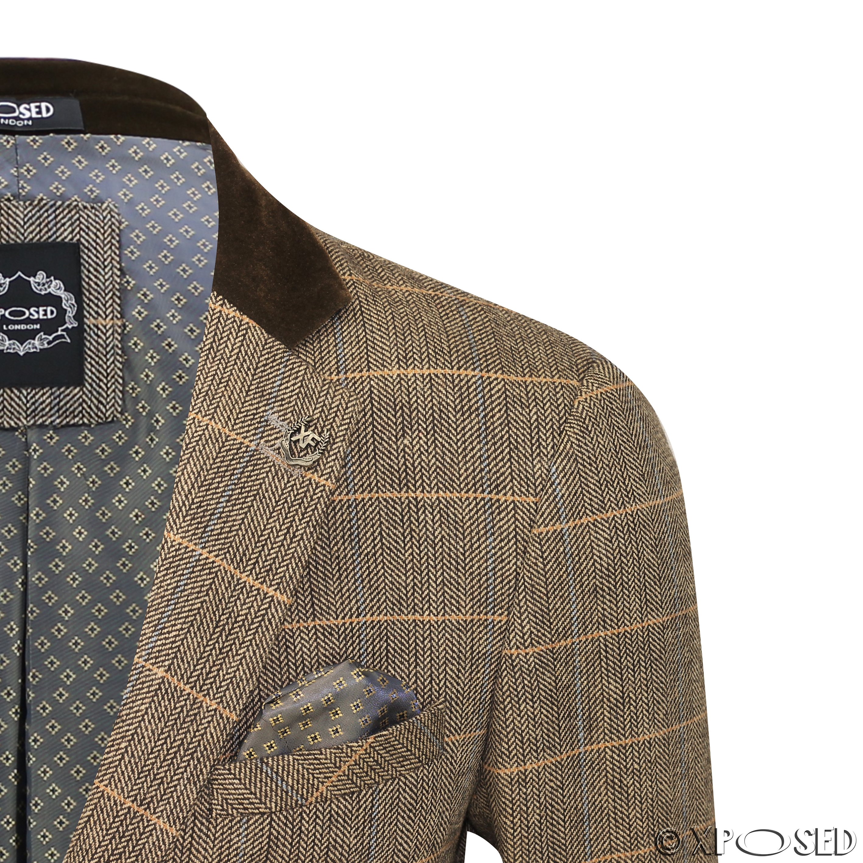 Mens Jacket With Elbow Patches - ShopStyle Australia