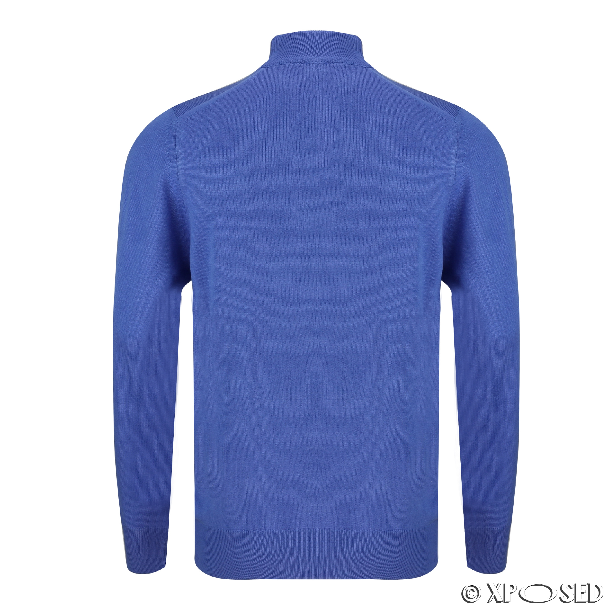 Knitting Wear Company : New men s plain jumper round crew neck pullover soft knit