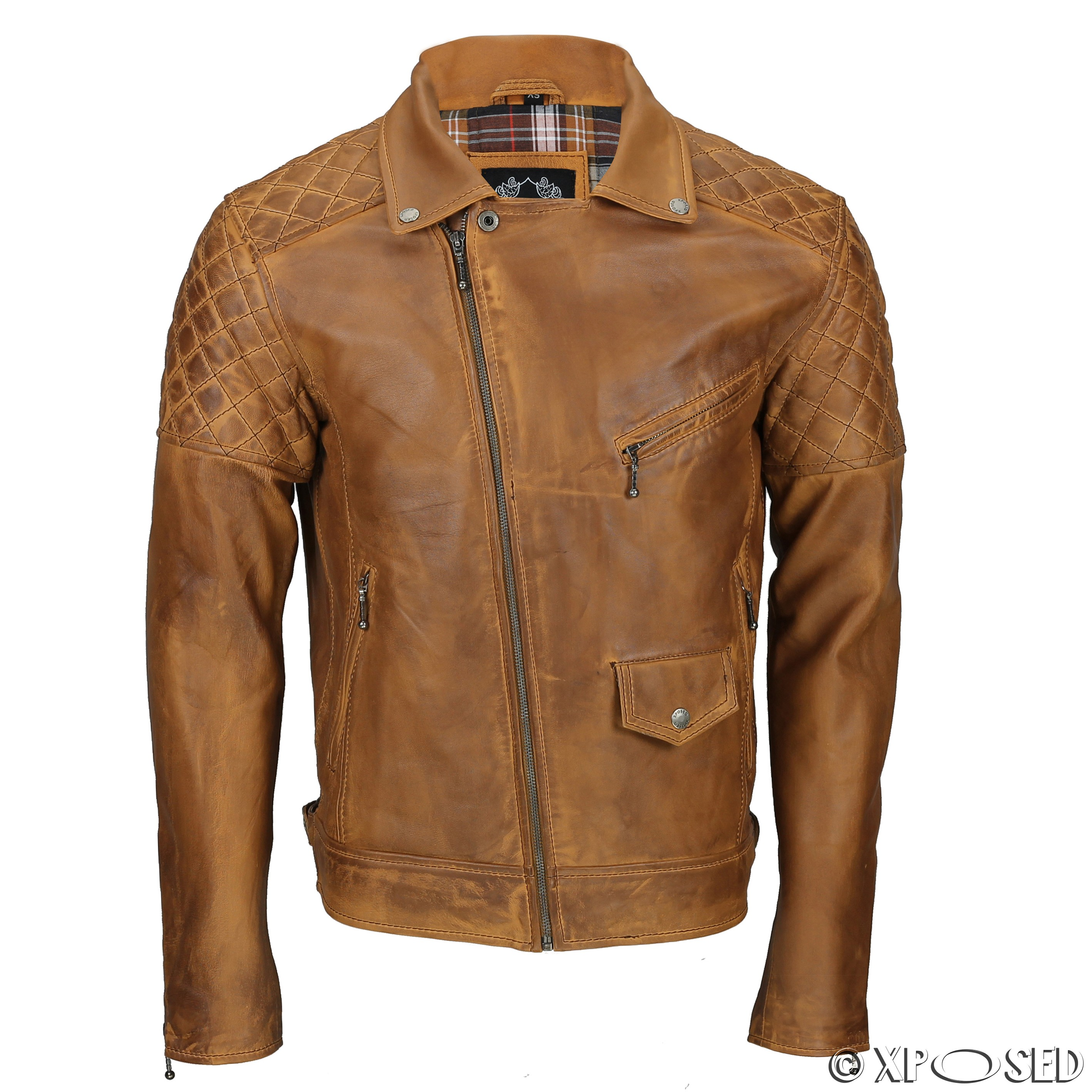 Find Brown Leather Motorcycle Jackets at J&P Cycles, your source for aftermarket motorcycle parts and accessories.