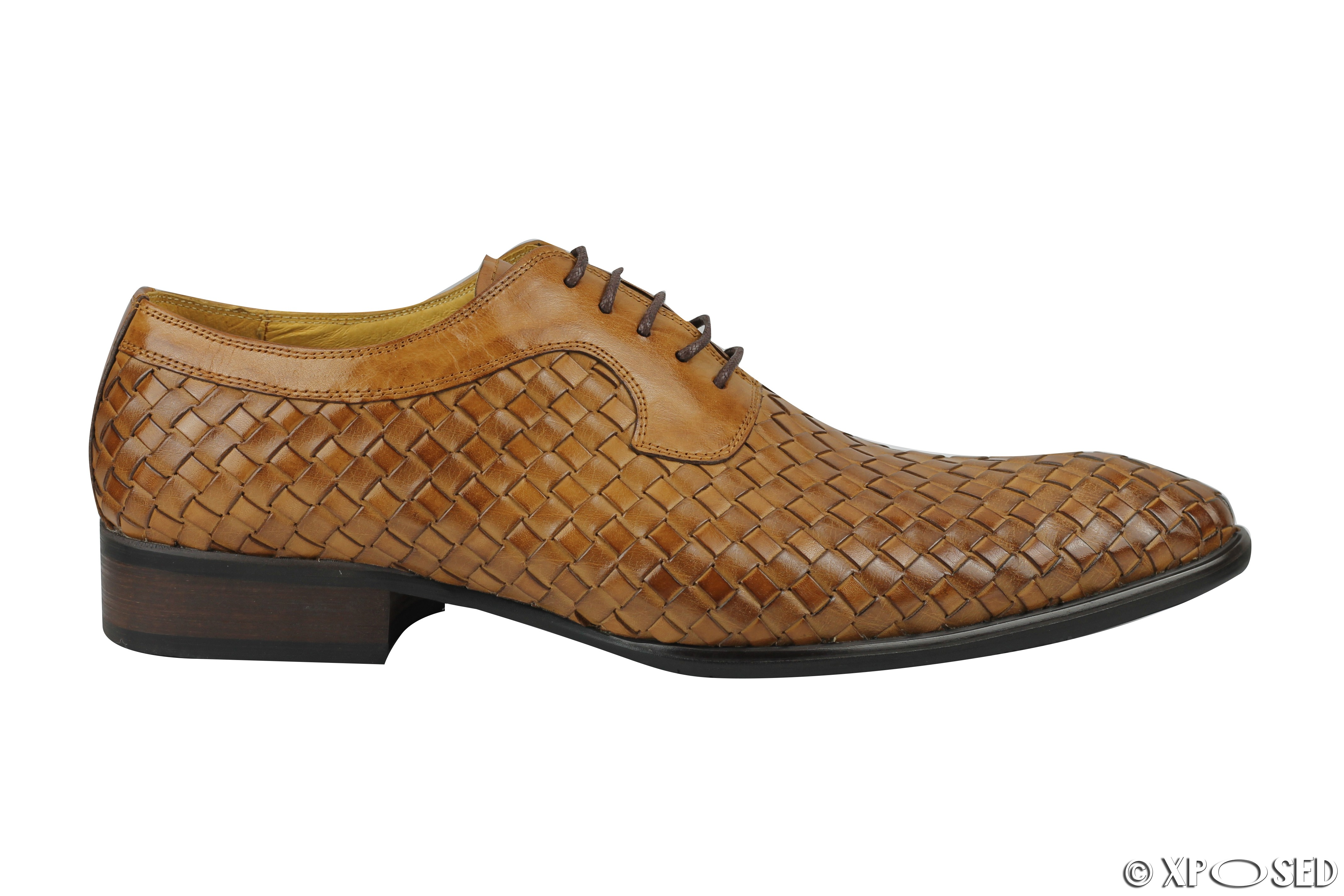 Basket Weave Dress Shoes
