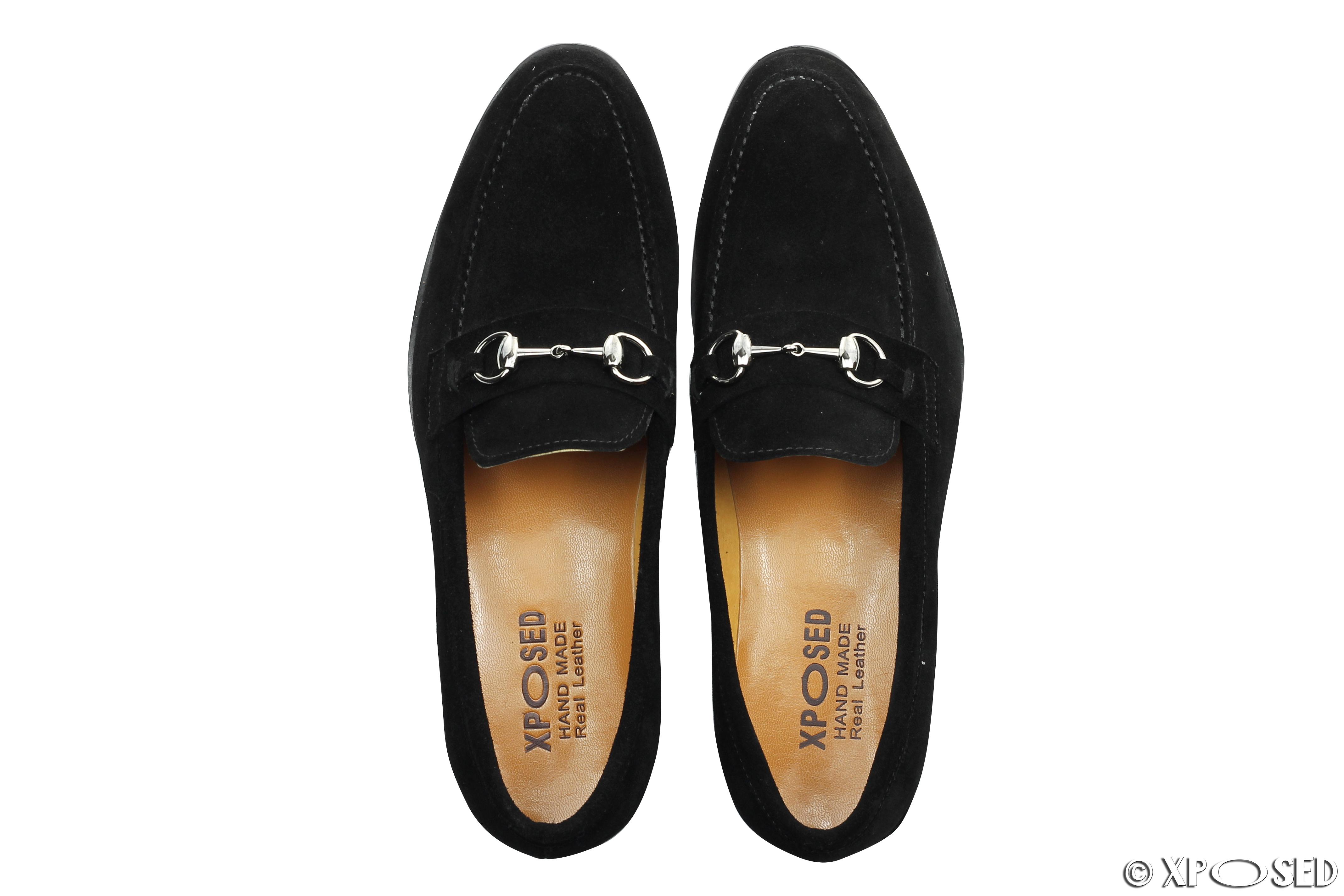 Mens Cream Suede Shoes
