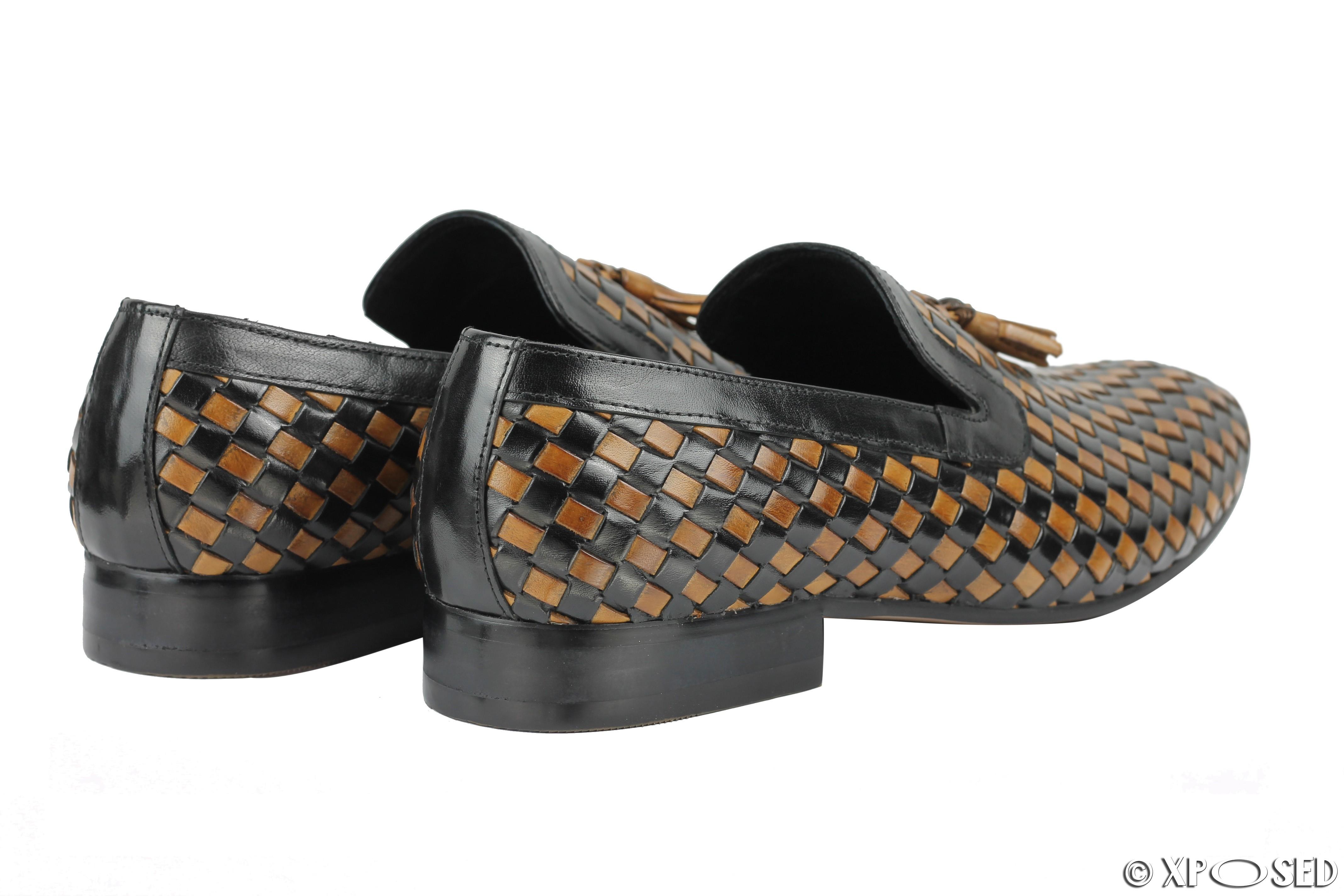 Mens Brown Tassel Shoes