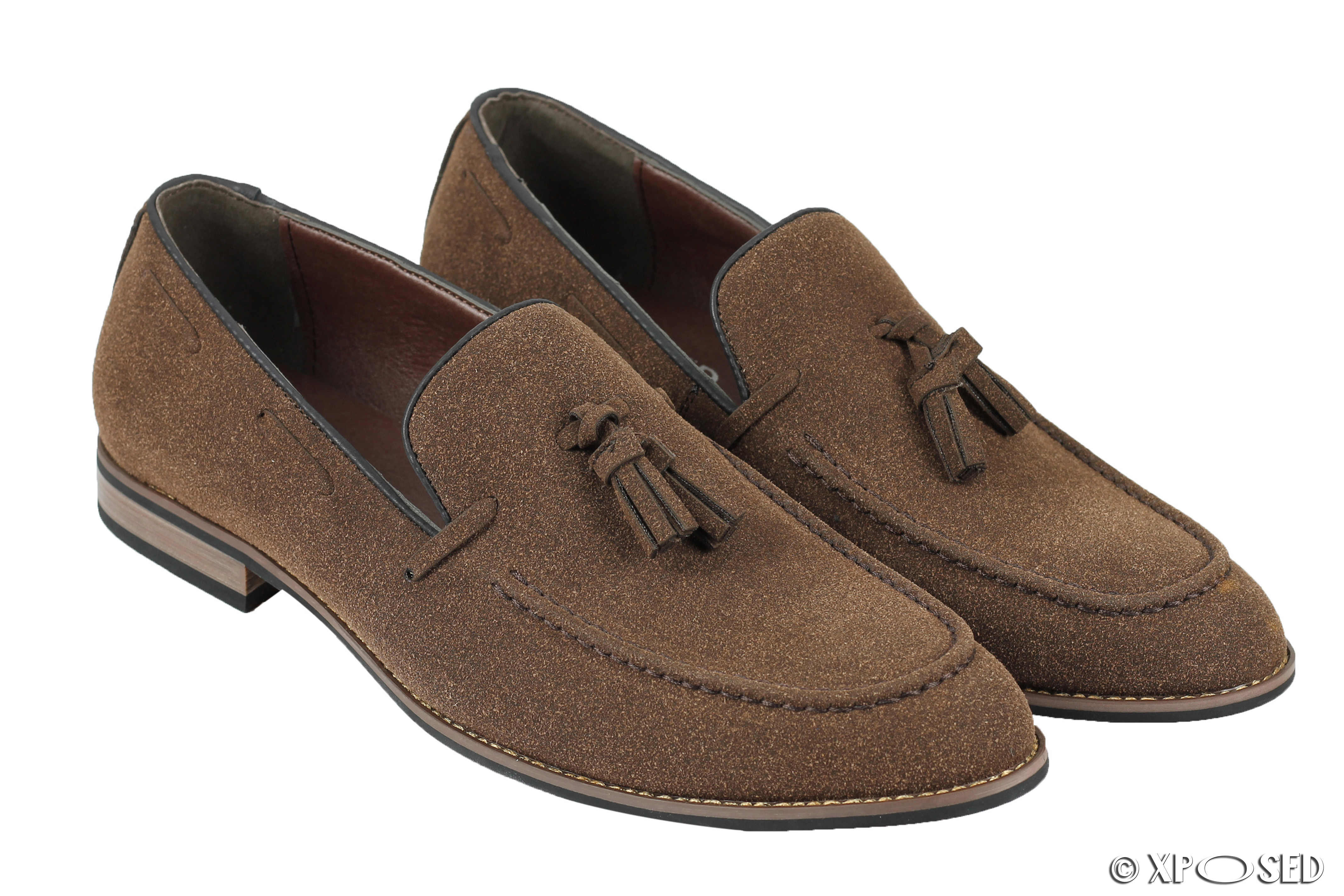 Mens Brown Suede Shoes Uk