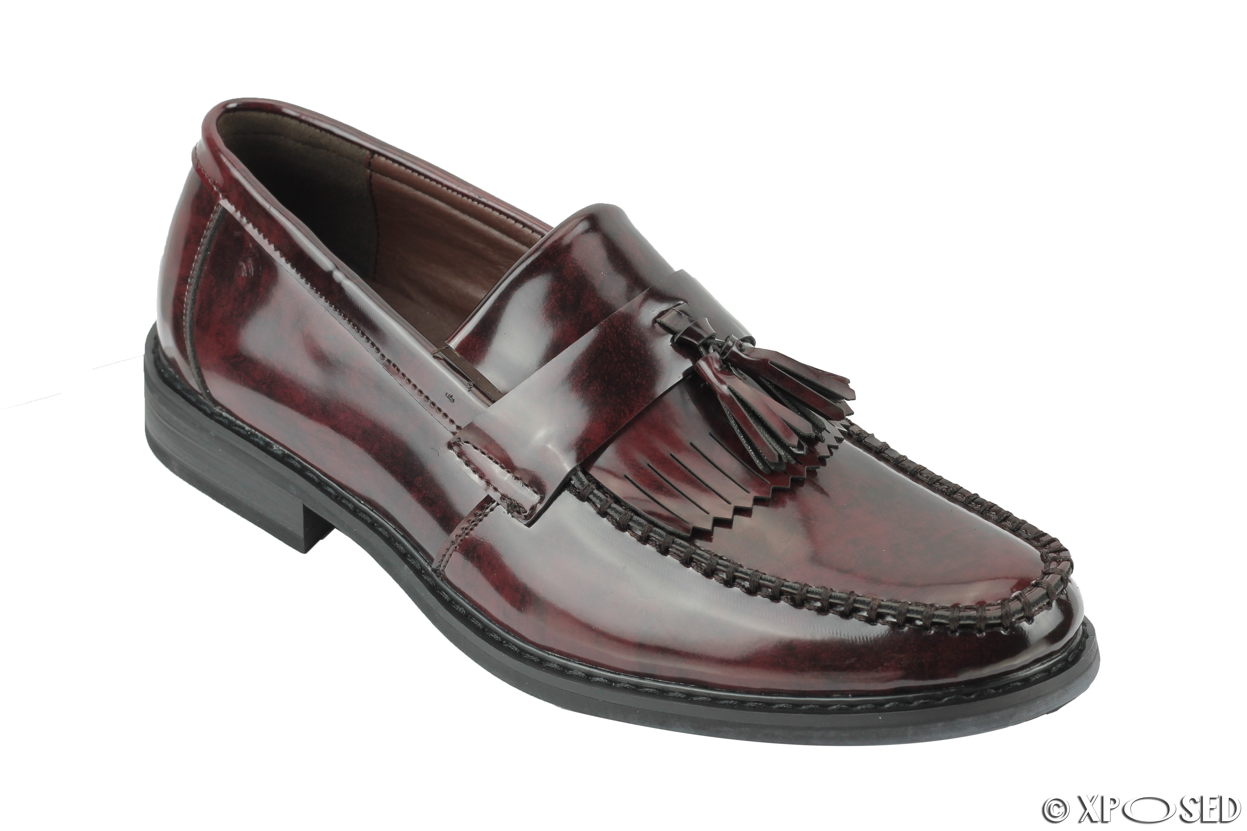 Mens Leather Shoes Oxblood