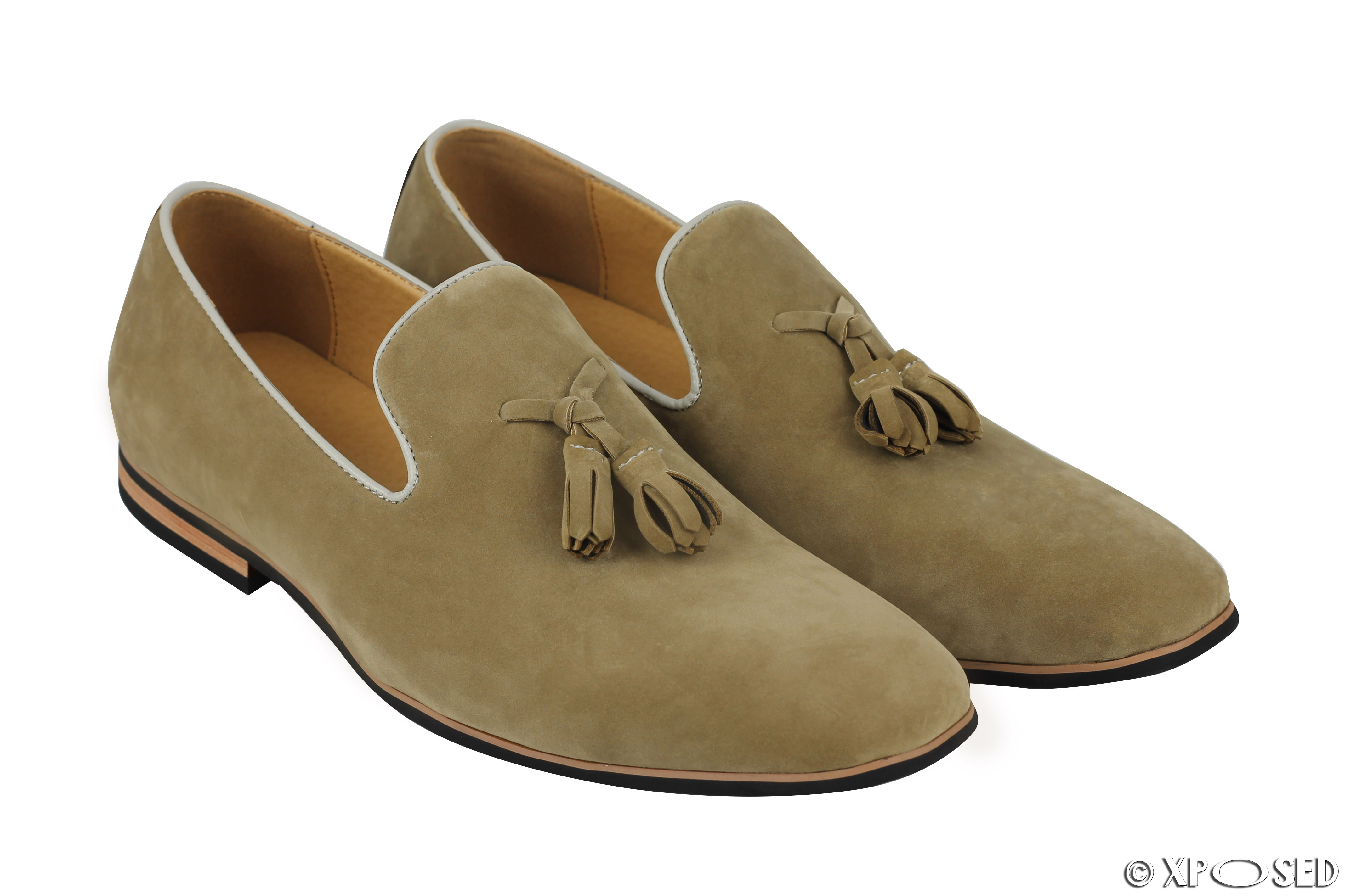 how to clean suede leather loafers