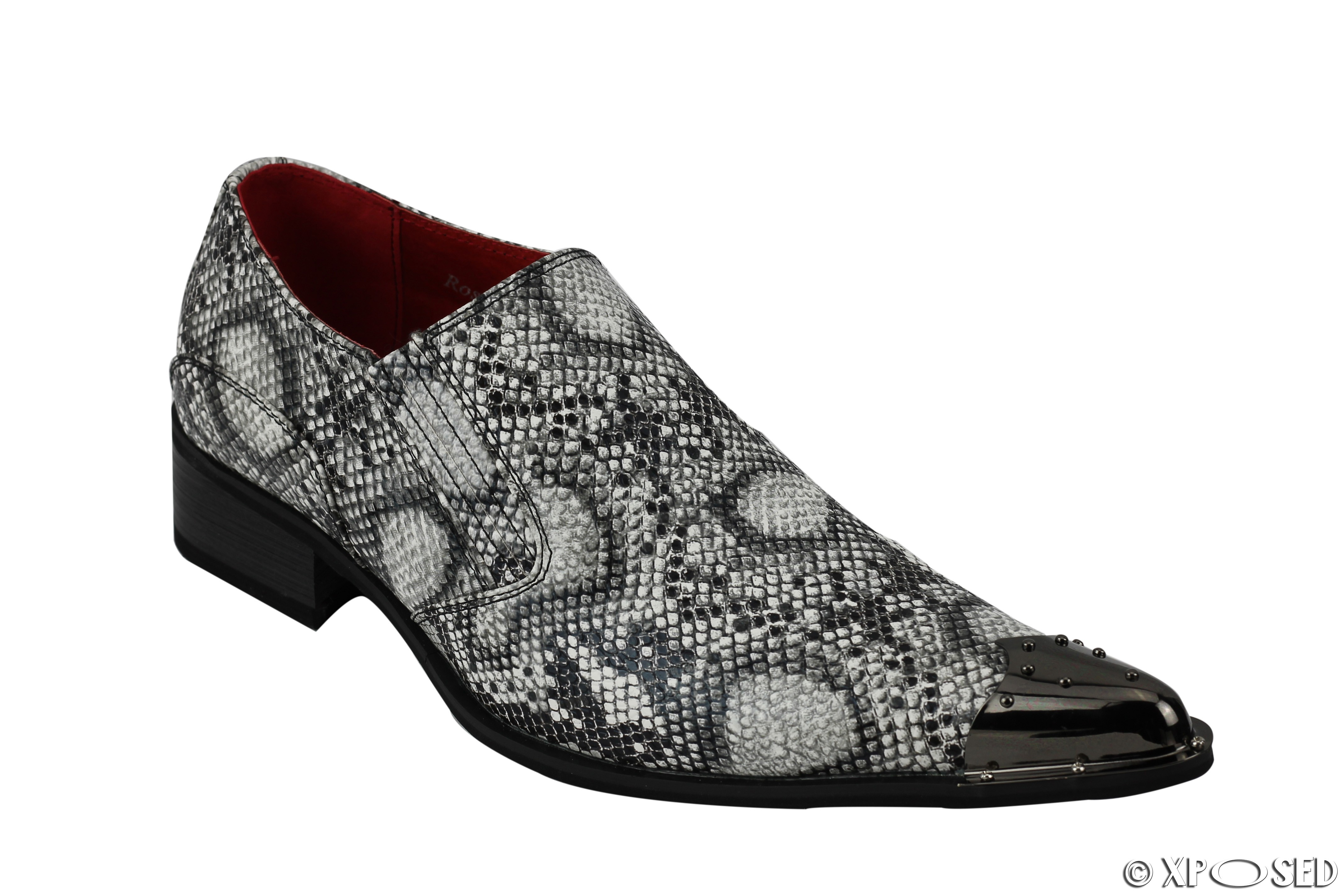 Snakeskin Leather Shoes
