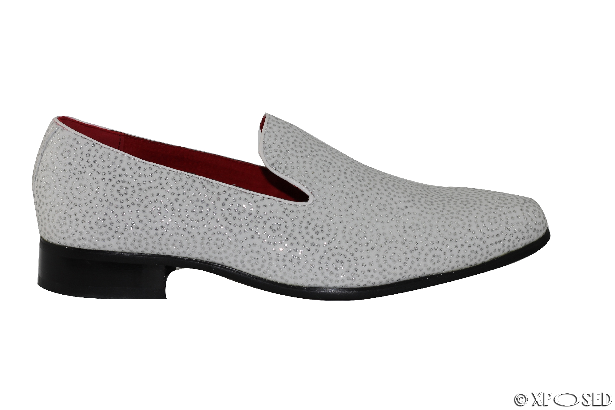Black And White Mens Loafers Images Leather
