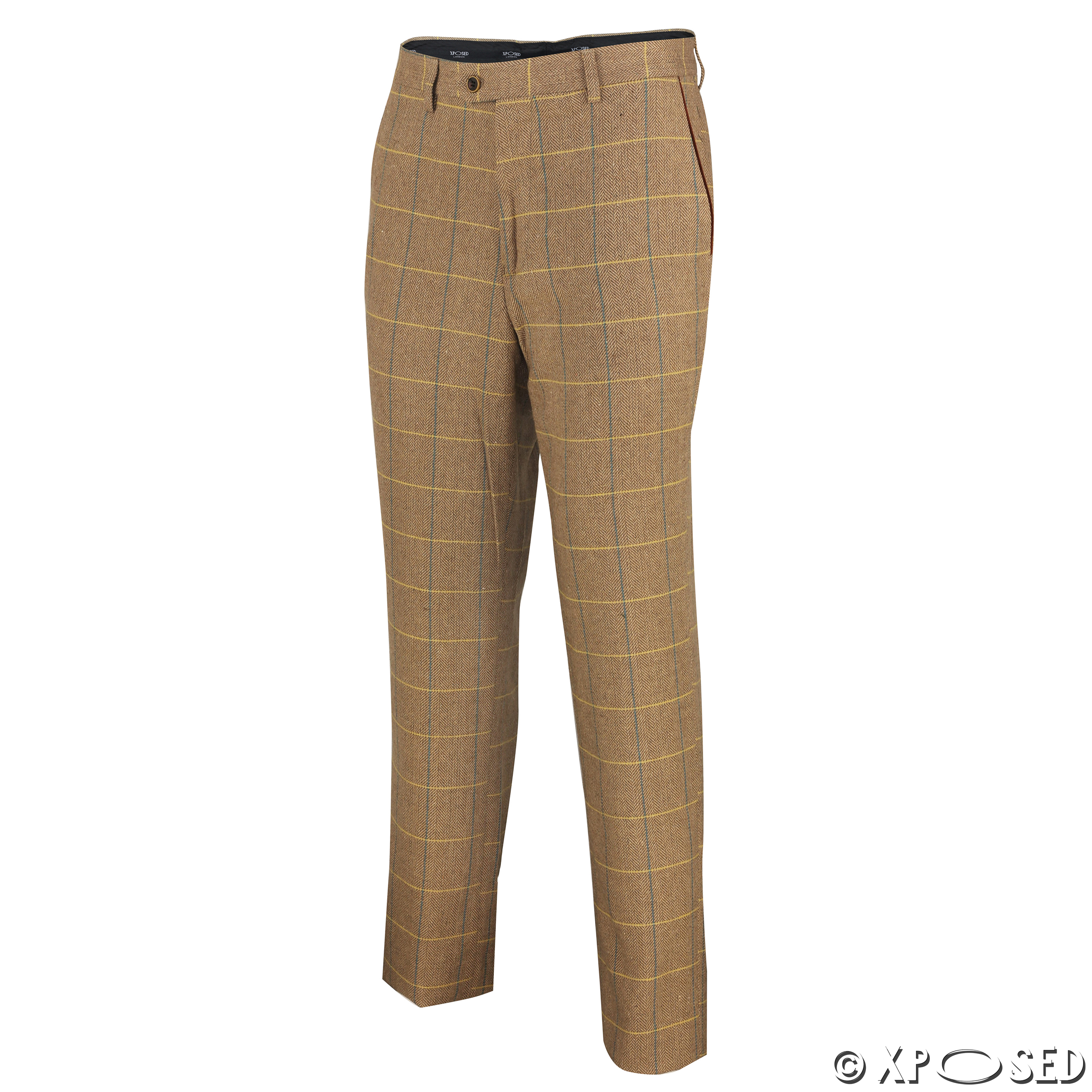 Shop for French Connection Men's Brown Tweed Flat-front Pants. Get free delivery at cripatsur.ga - Your Online Men's Clothing Shop! Get 5% in rewards with Club O! -