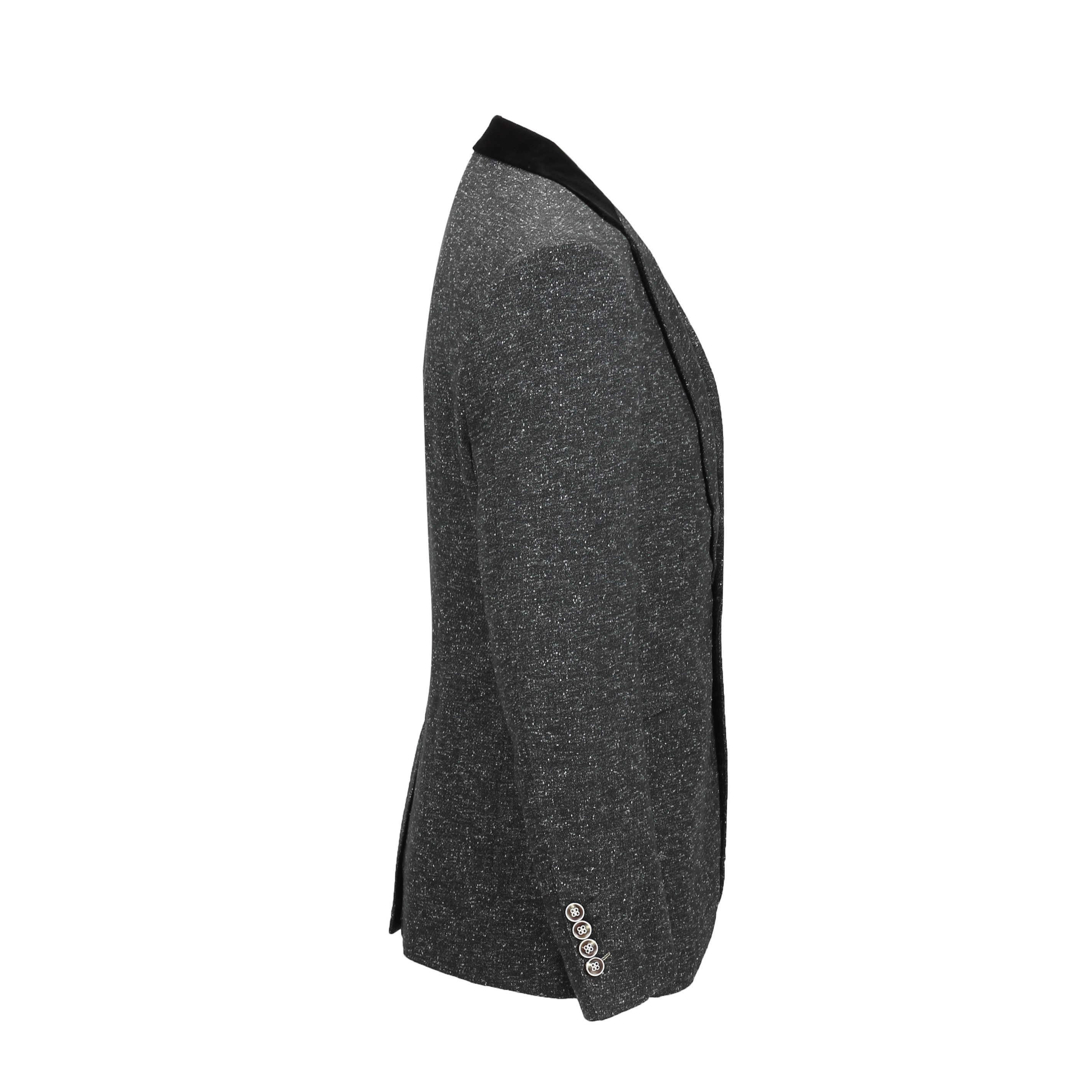 Para-hombre-Traje-de-3-piezas-de-lana-en-gris-se-vende-por-separado-Retro-Blazer-Chaleco-Pantalones miniatura 7