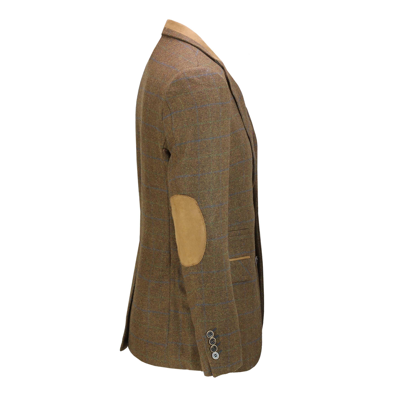 Hombres-Tweed-cheque-3-Piezas-Traje-Chaqueta-Pantalon-Chaleco-se-vende-como-medida-separa miniatura 5