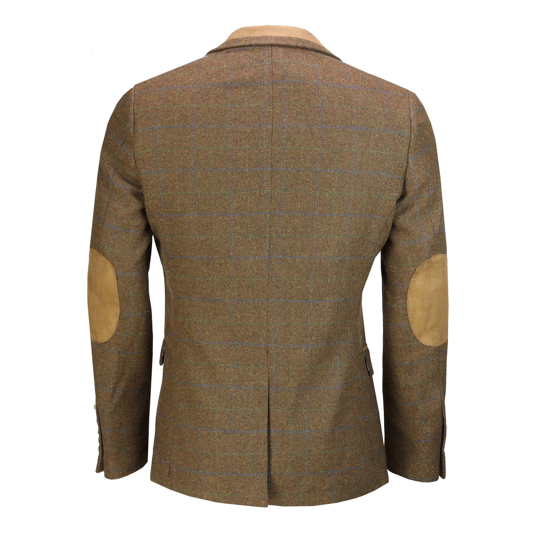 Hombres-Tweed-cheque-3-Piezas-Traje-Chaqueta-Pantalon-Chaleco-se-vende-como-medida-separa miniatura 6