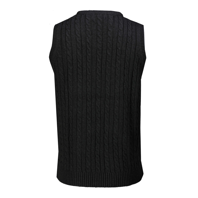 Men/'s V-Neck Knitting Vest Classic Slim Fit Sleeveless Pullover Grey, Size XL