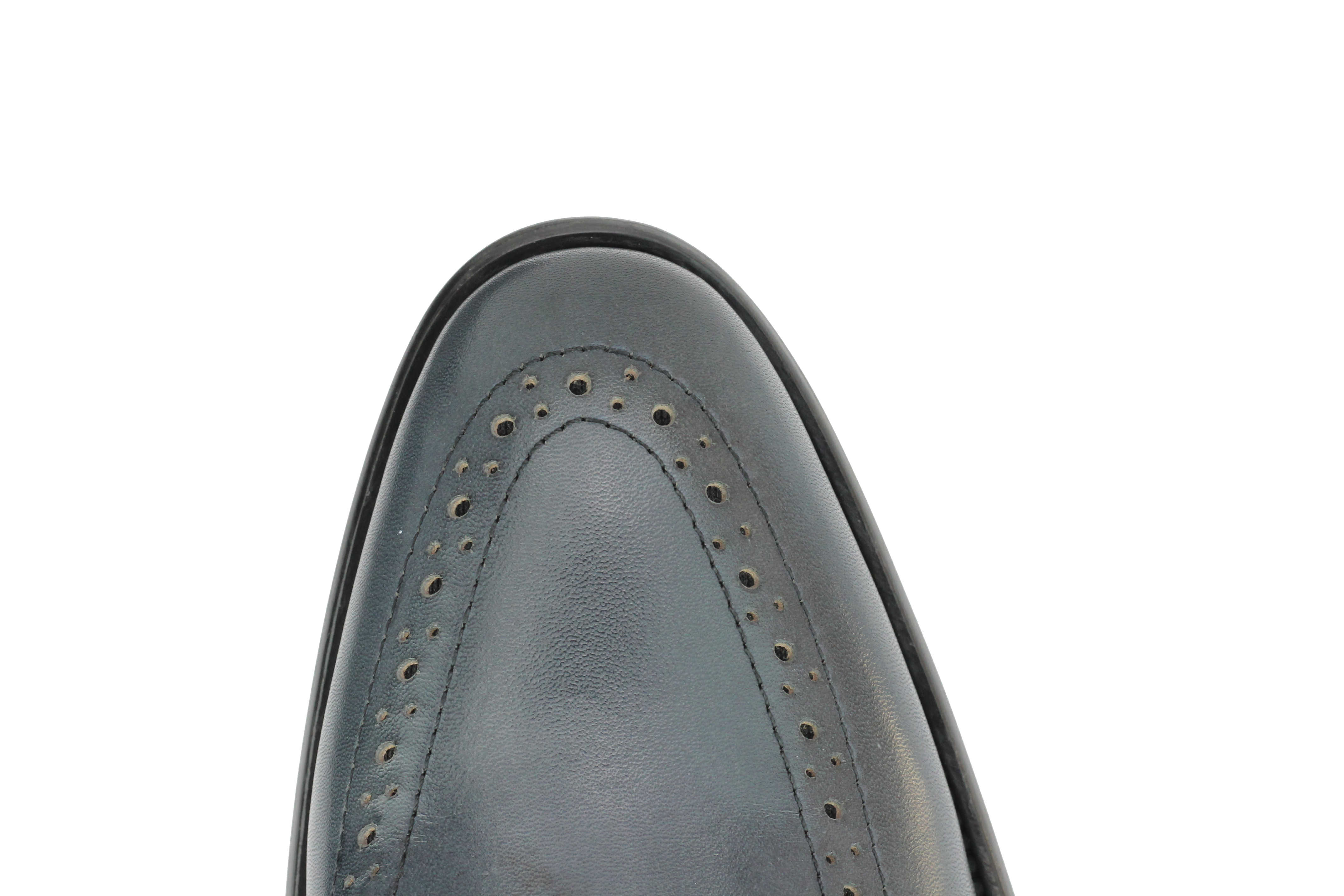 Mens-Real-Leather-Tassel-Loafers-Retro-Hand-Made-Brogue-Slip-on-Dress-Shoes thumbnail 14