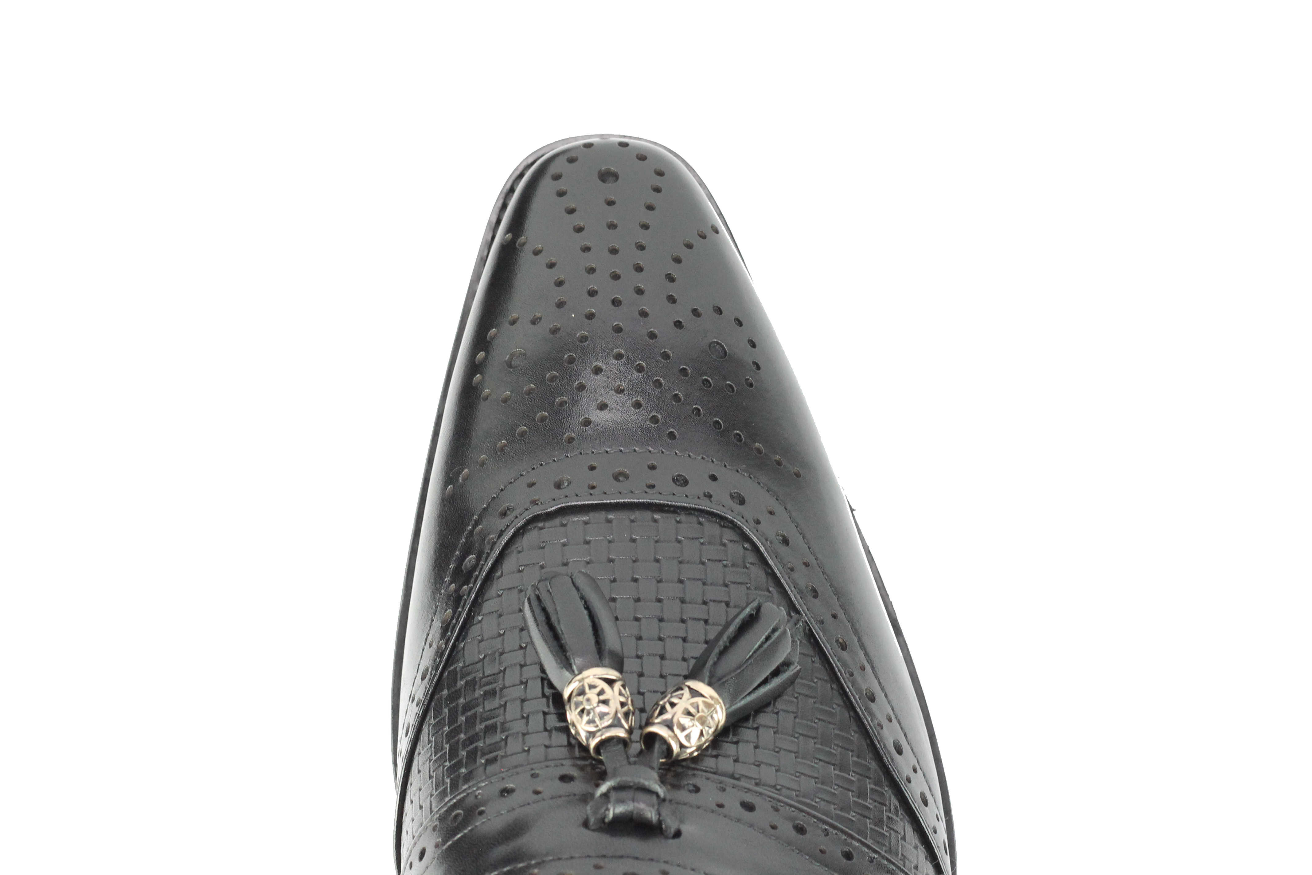 Mens-Real-Leather-Slip-on-Tassel-Loafers-High-Detailed-Smart-Dress-Party-Shoes thumbnail 8