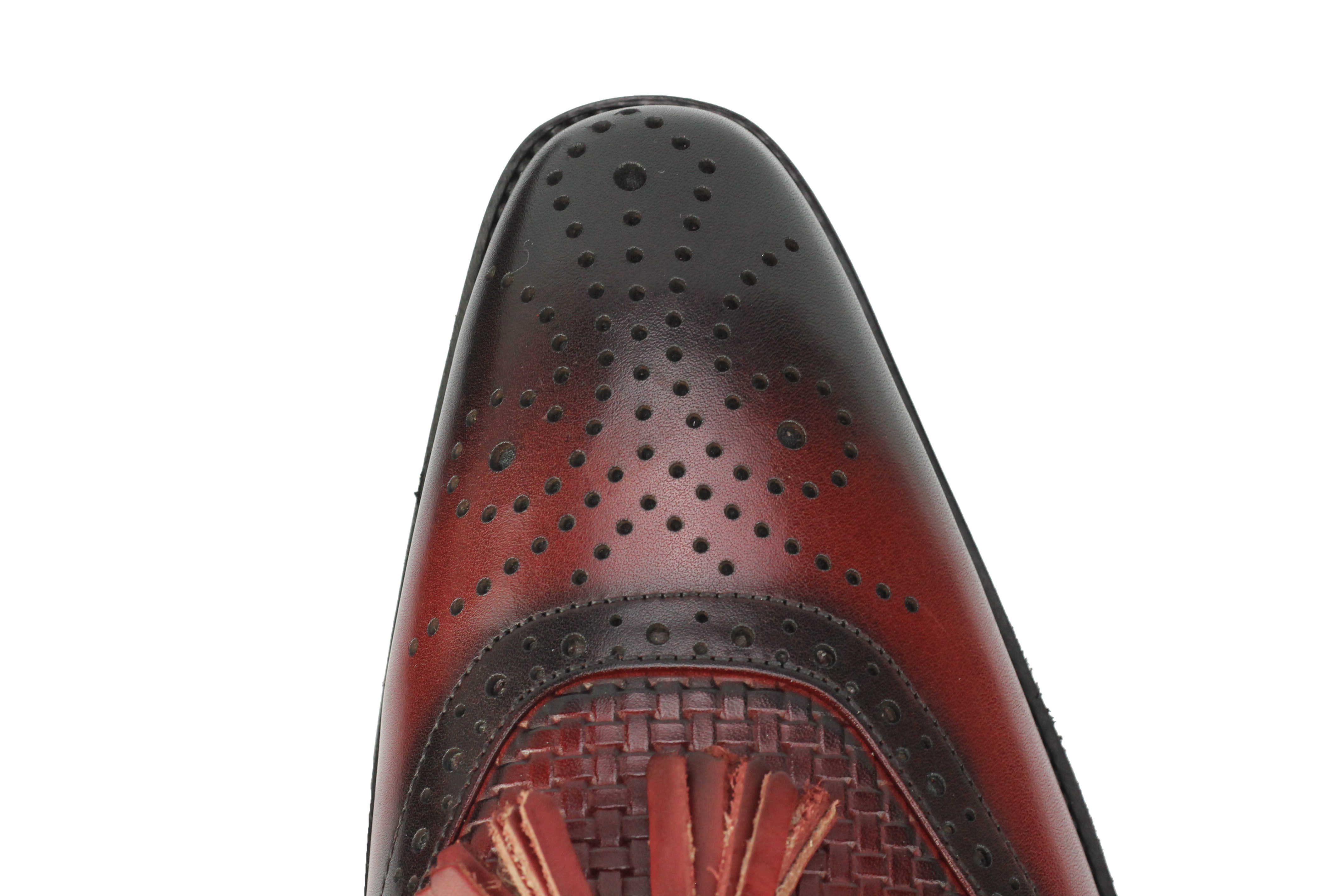 Mens-Real-Leather-Slip-on-Tassel-Loafers-High-Detailed-Smart-Dress-Party-Shoes thumbnail 15