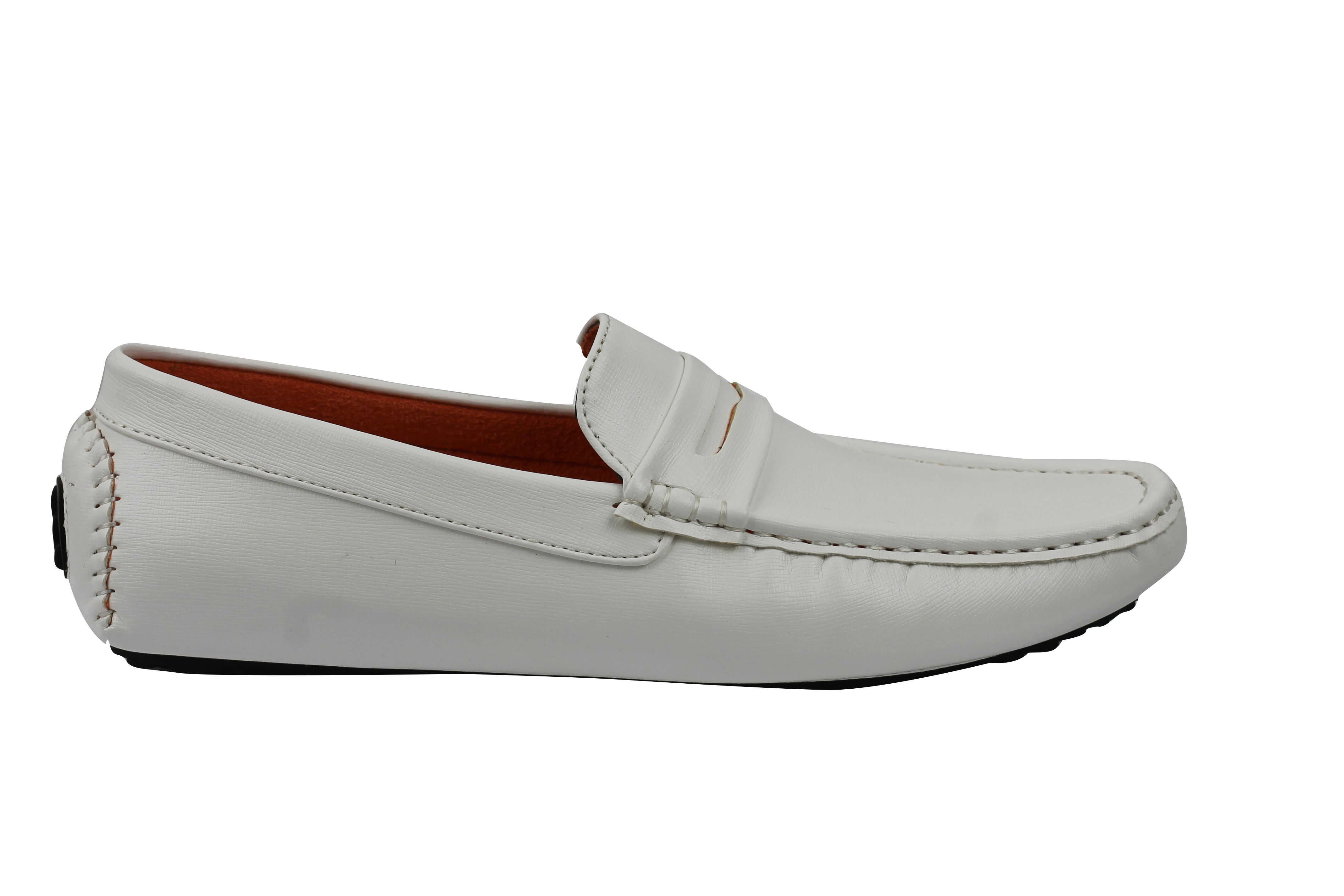New-Mens-Faux-Leather-Slip-on-Penny-Loafers-Driving-Shoes-UK-Sizes-6-7-8-9-10-11 thumbnail 14