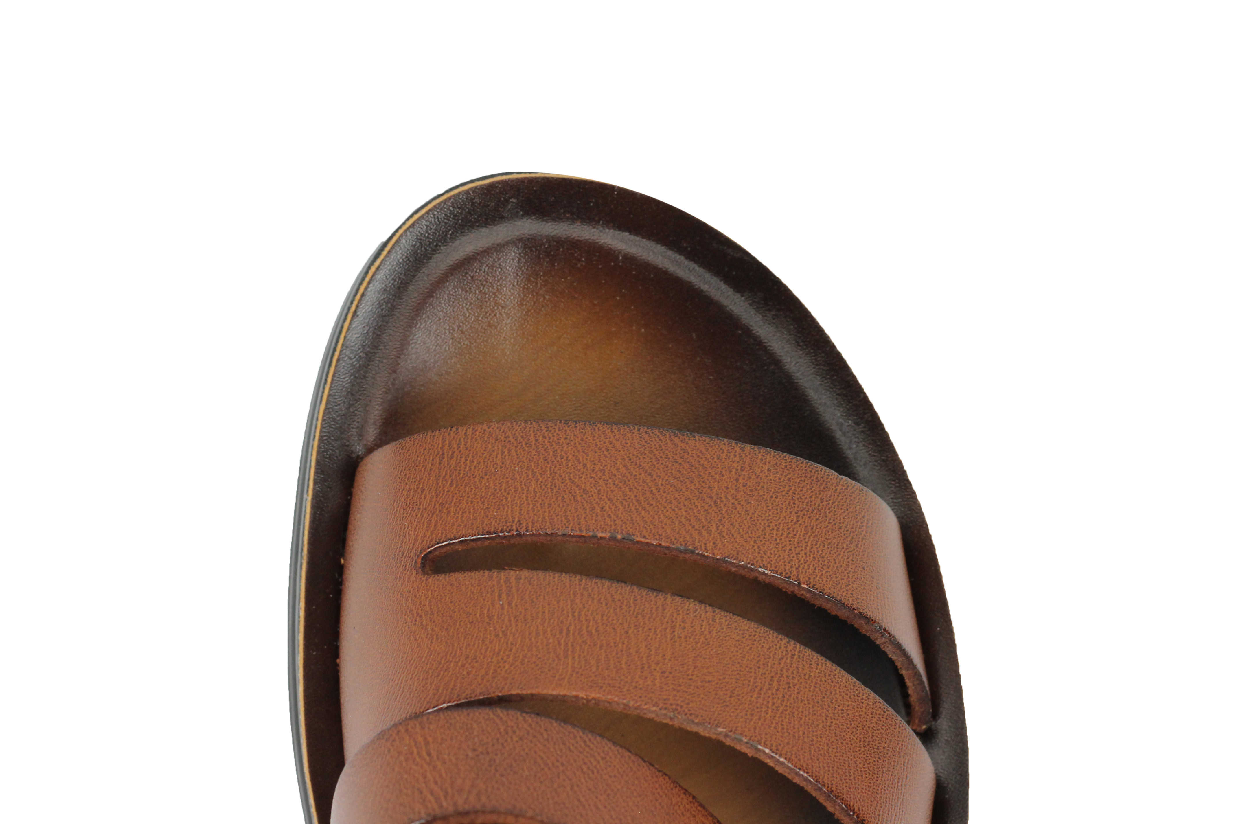 d0ab447b43b3b7 New Mens Genuine Leather Sandals Beach Walking Jesus Slippers Slider ...