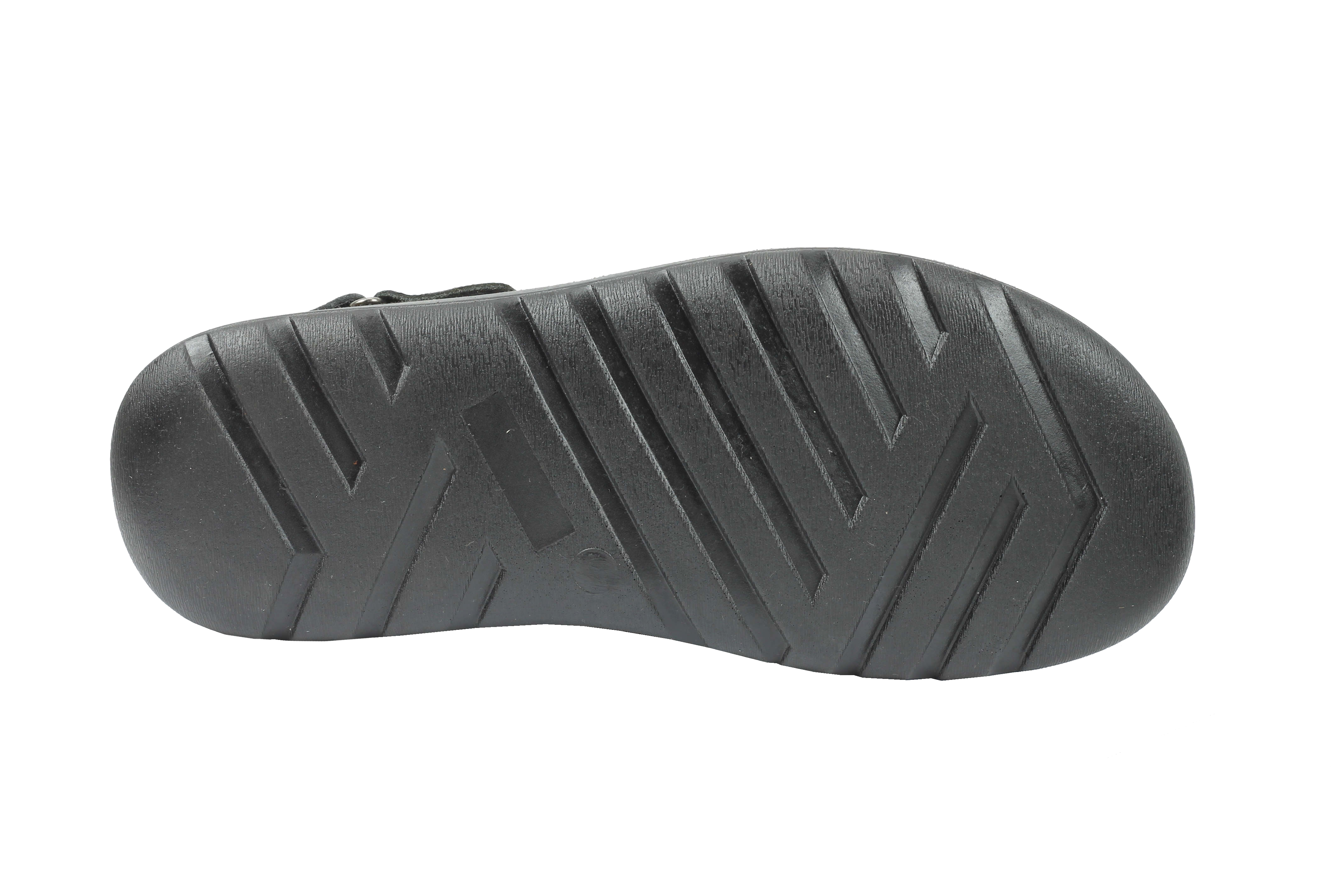 New-Mens-Real-Leather-Walking-Sandals-Black-Brown-Toe-Loop-Adjustable-Back-Strap thumbnail 3