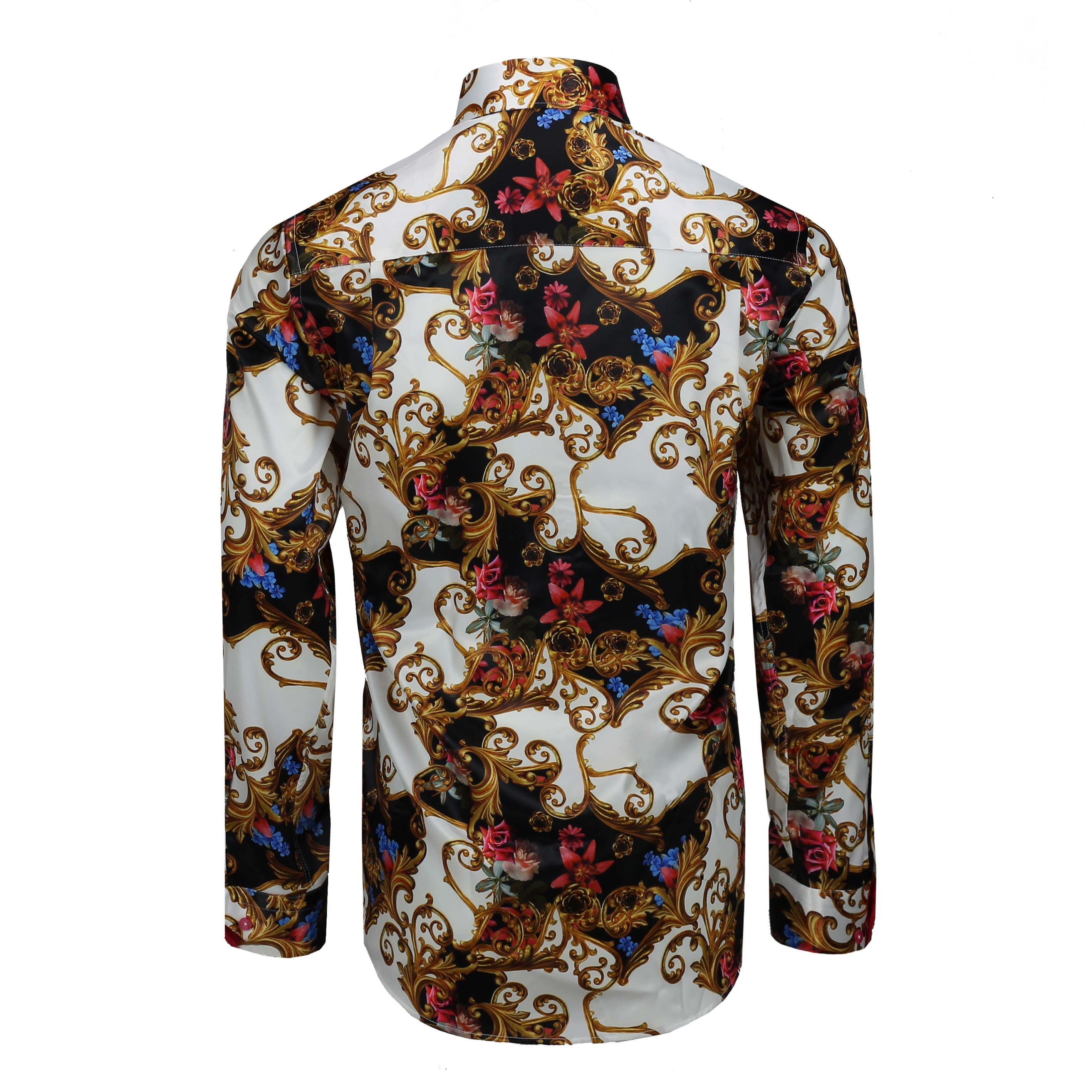 Mens Floral Designer Shirts Uk Rldm