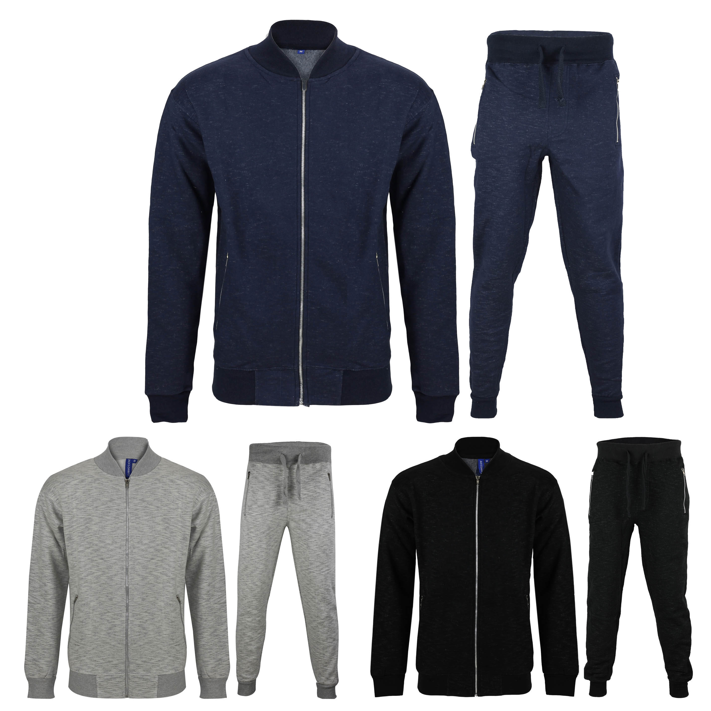 100% original release date: top style Details about Mens Tracksuit Set Fleece Bomber Jacket Top Joggers Jogging  Bottoms Smart Casual