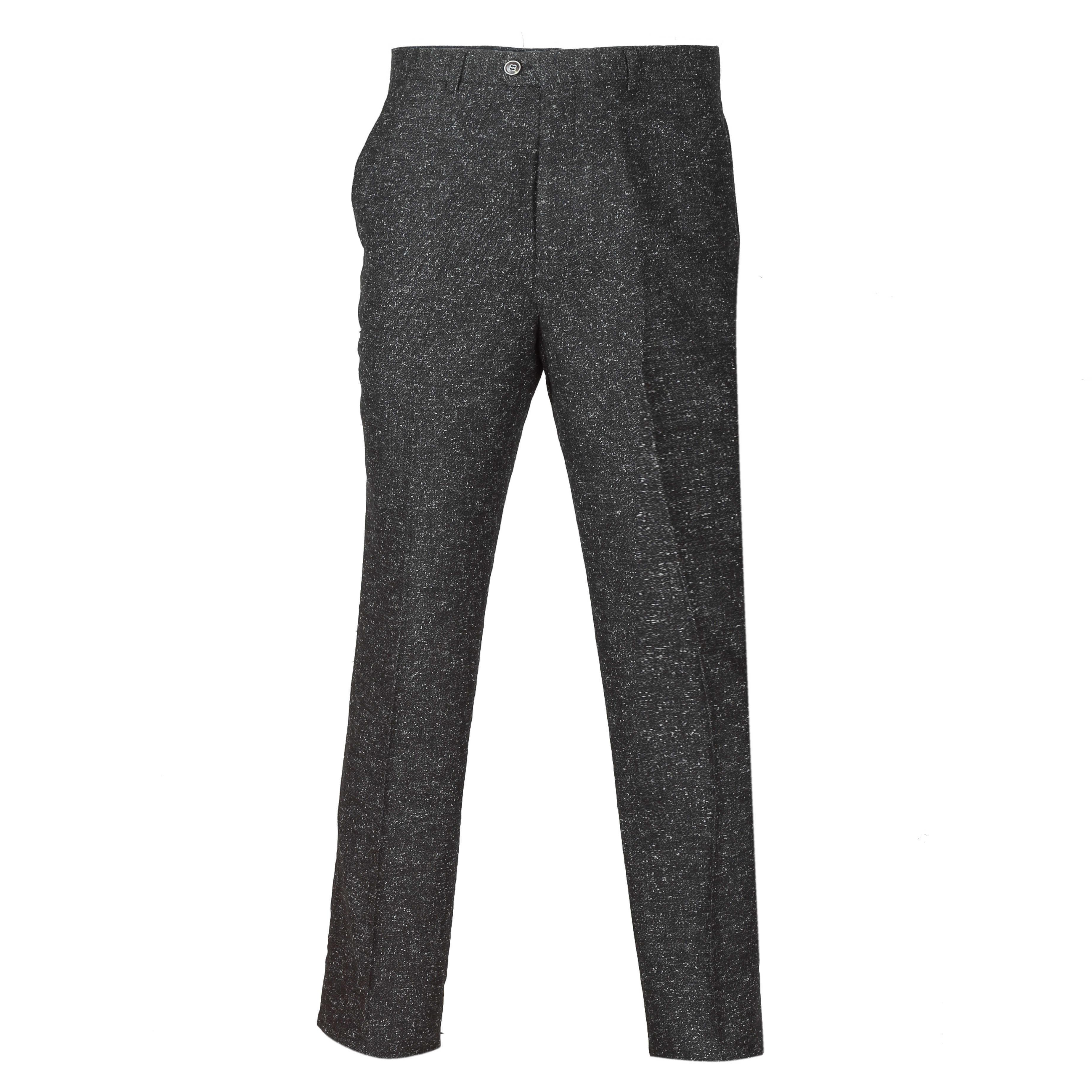 Para-hombre-Traje-de-3-piezas-de-lana-en-gris-se-vende-por-separado-Retro-Blazer-Chaleco-Pantalones miniatura 10