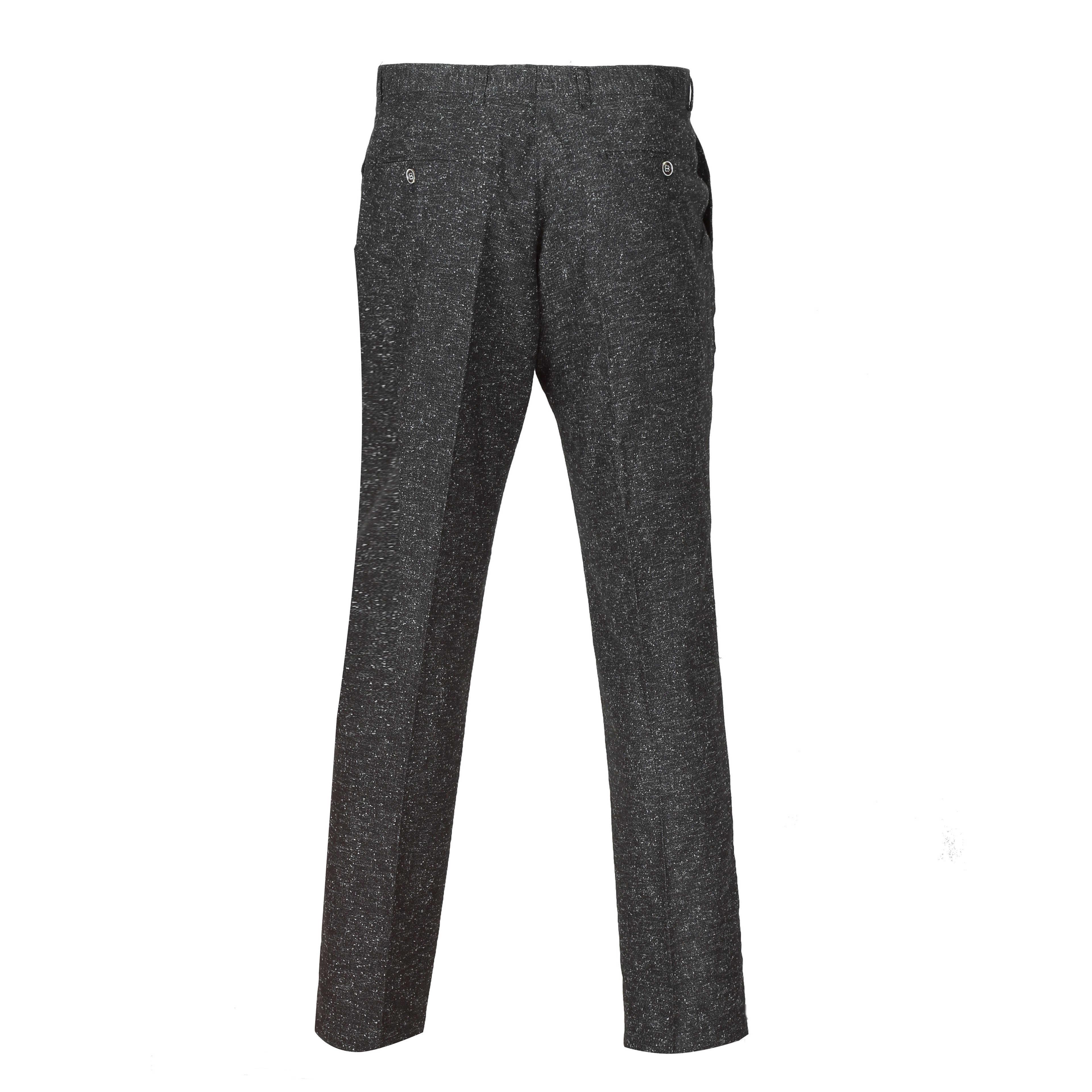 Para-hombre-Traje-de-3-piezas-de-lana-en-gris-se-vende-por-separado-Retro-Blazer-Chaleco-Pantalones miniatura 11