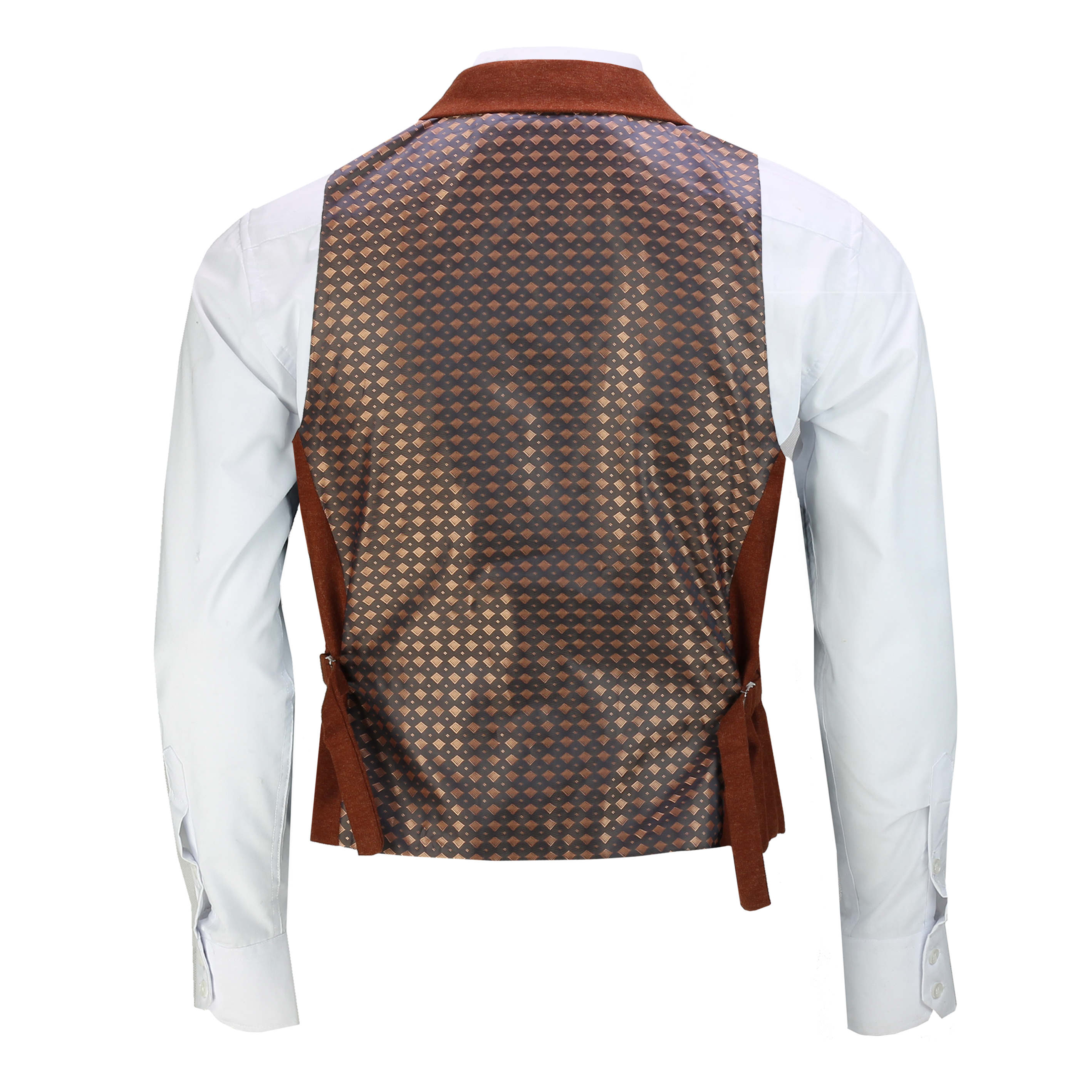 Mens-Classic-Collar-Waistcoat-Retro-Vintage-Style-Tailored-Fit-Smart-Formal-Vest thumbnail 22