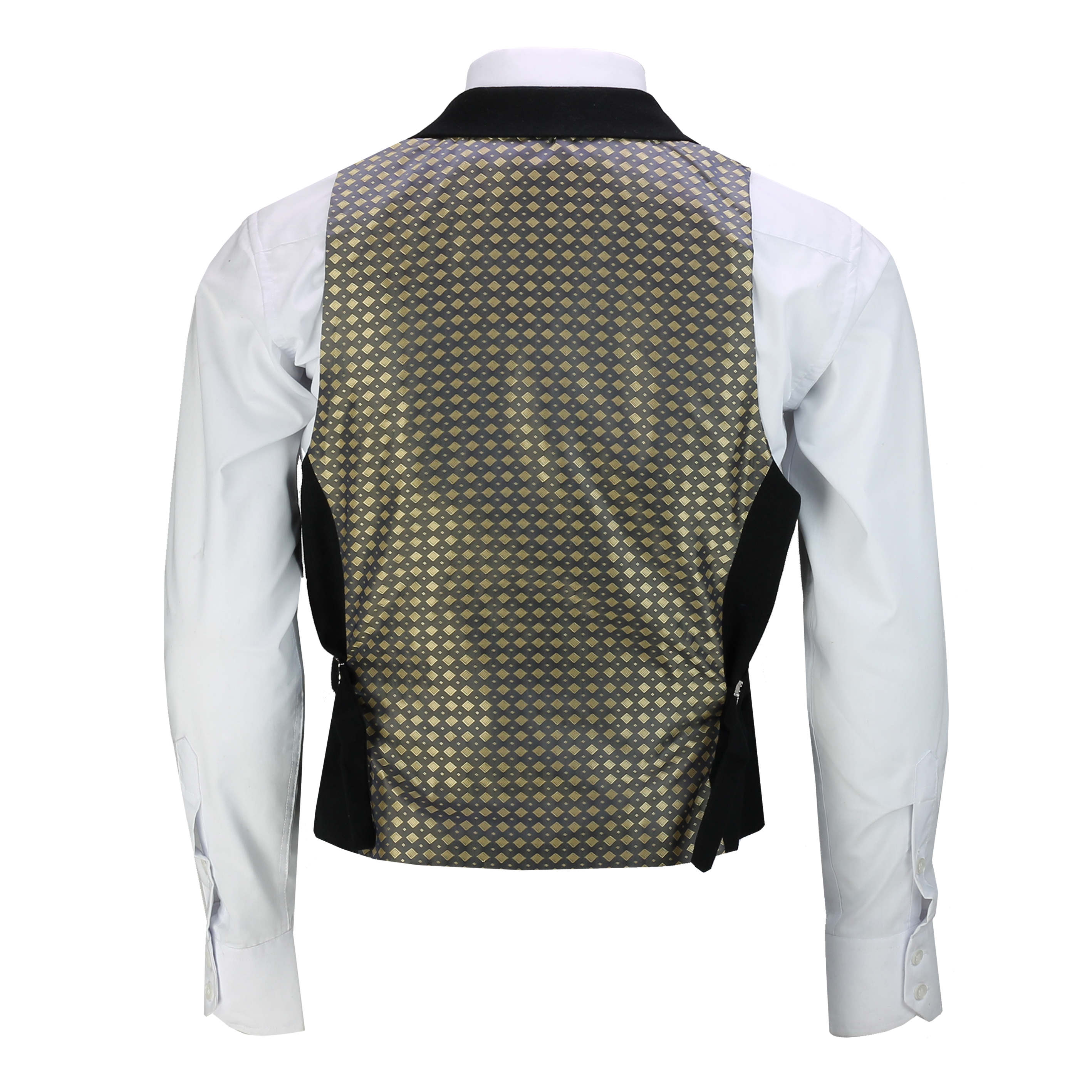 Mens-Classic-Collar-Waistcoat-Retro-Vintage-Style-Tailored-Fit-Smart-Formal-Vest thumbnail 4