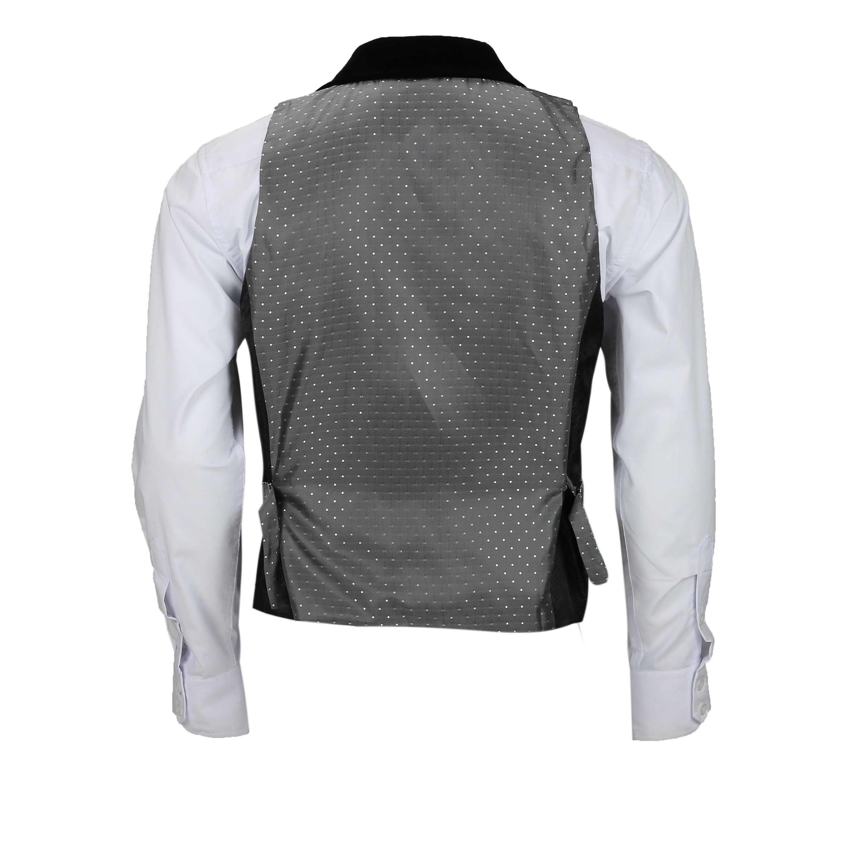 Para-hombre-Traje-de-3-piezas-de-lana-en-gris-se-vende-por-separado-Retro-Blazer-Chaleco-Pantalones miniatura 16