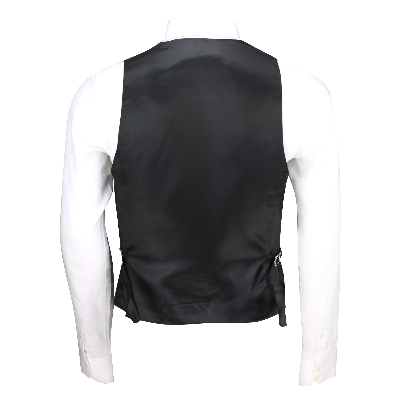 Para-hombre-negro-terciopelo-vintage-3-Piezas-Traje-Blazer-Chaleco-del-pantalon-se-vende-por miniatura 20