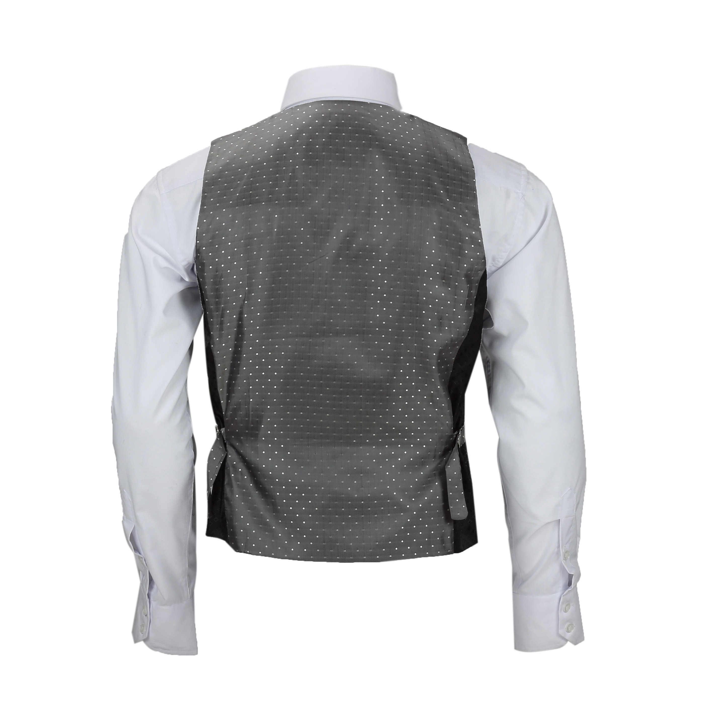 Nuevo-Chaleco-De-Hombre-Retro-Vintage-Marron-Tweed-Espiga-Roble-cheque-Smart-Casual miniatura 29