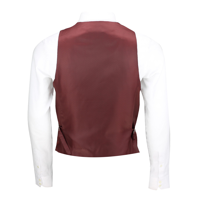 Mens-Vintage-Tweed-Check-Herringbone-Waistcoat-Casual-Retro-Grey-Brown-Green miniatuur 15