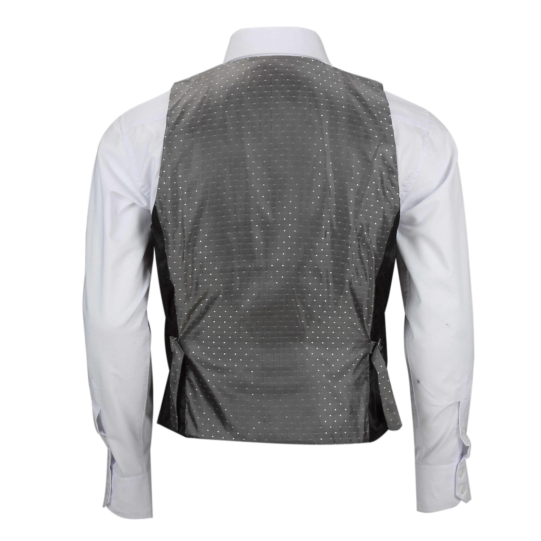 Para-hombre-Traje-de-3-piezas-de-lana-en-gris-se-vende-por-separado-Retro-Blazer-Chaleco-Pantalones miniatura 24