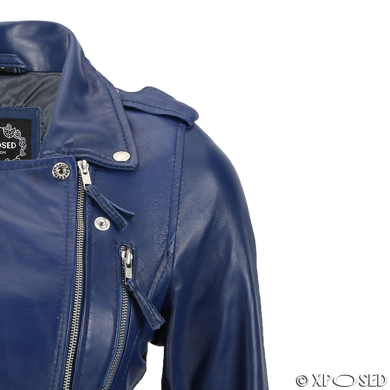 Ladies leather biker style jackets