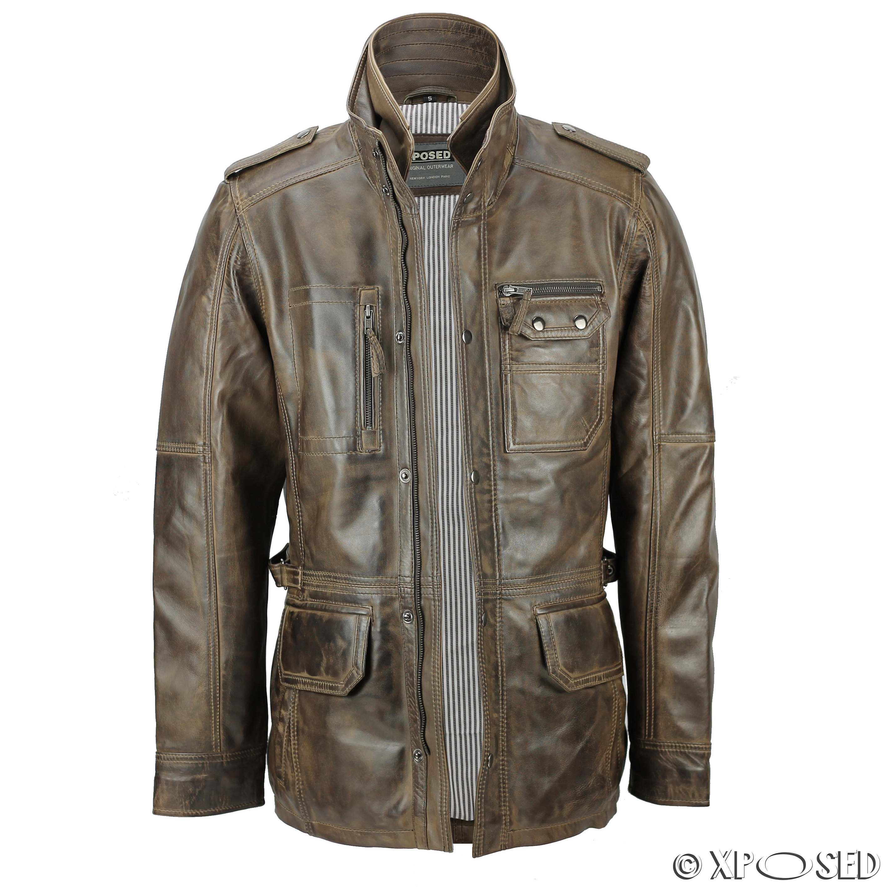 Retro leather jackets