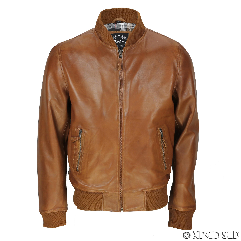 Leather flight jackets uk