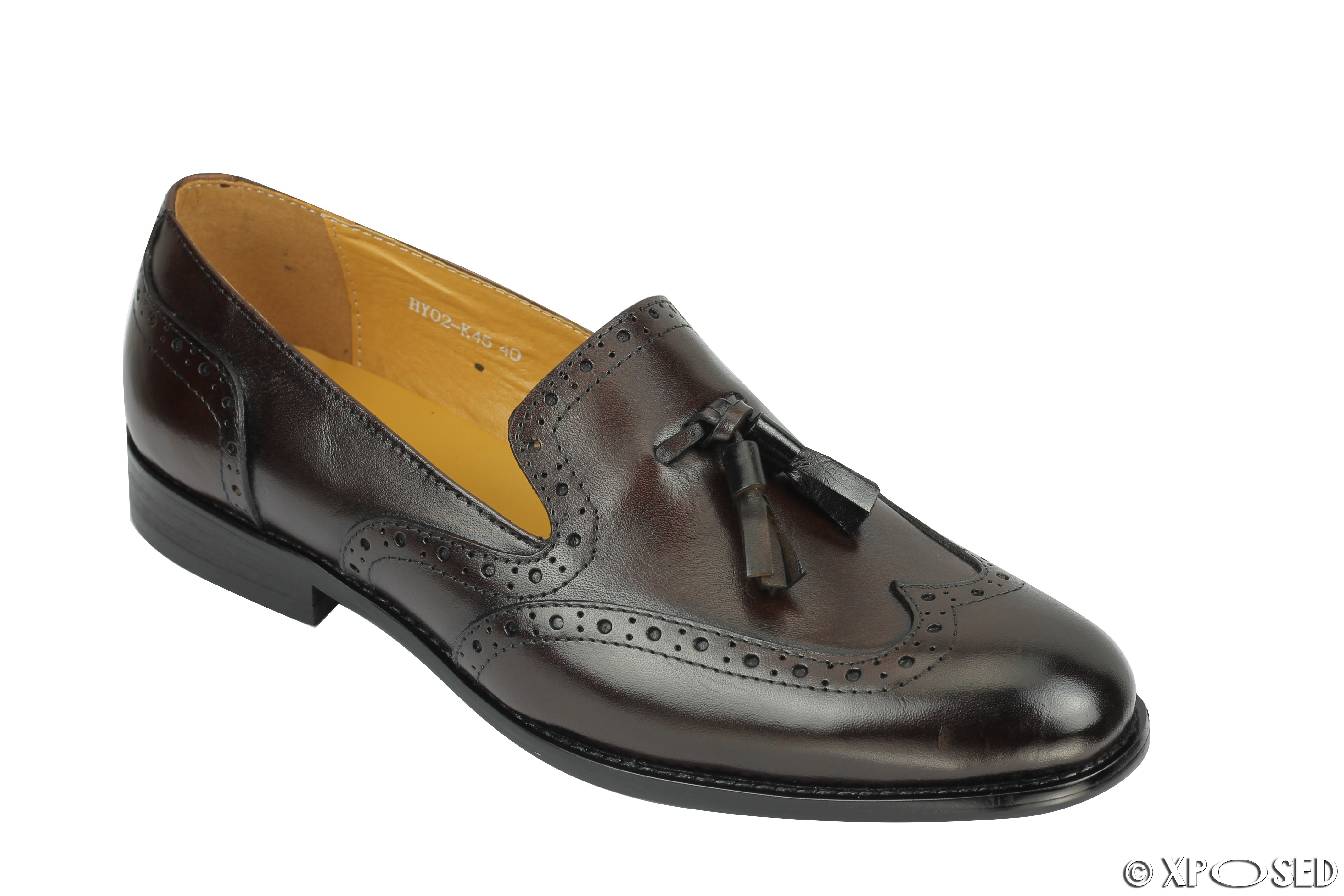 Mens Dress Shoes Brown Loafers