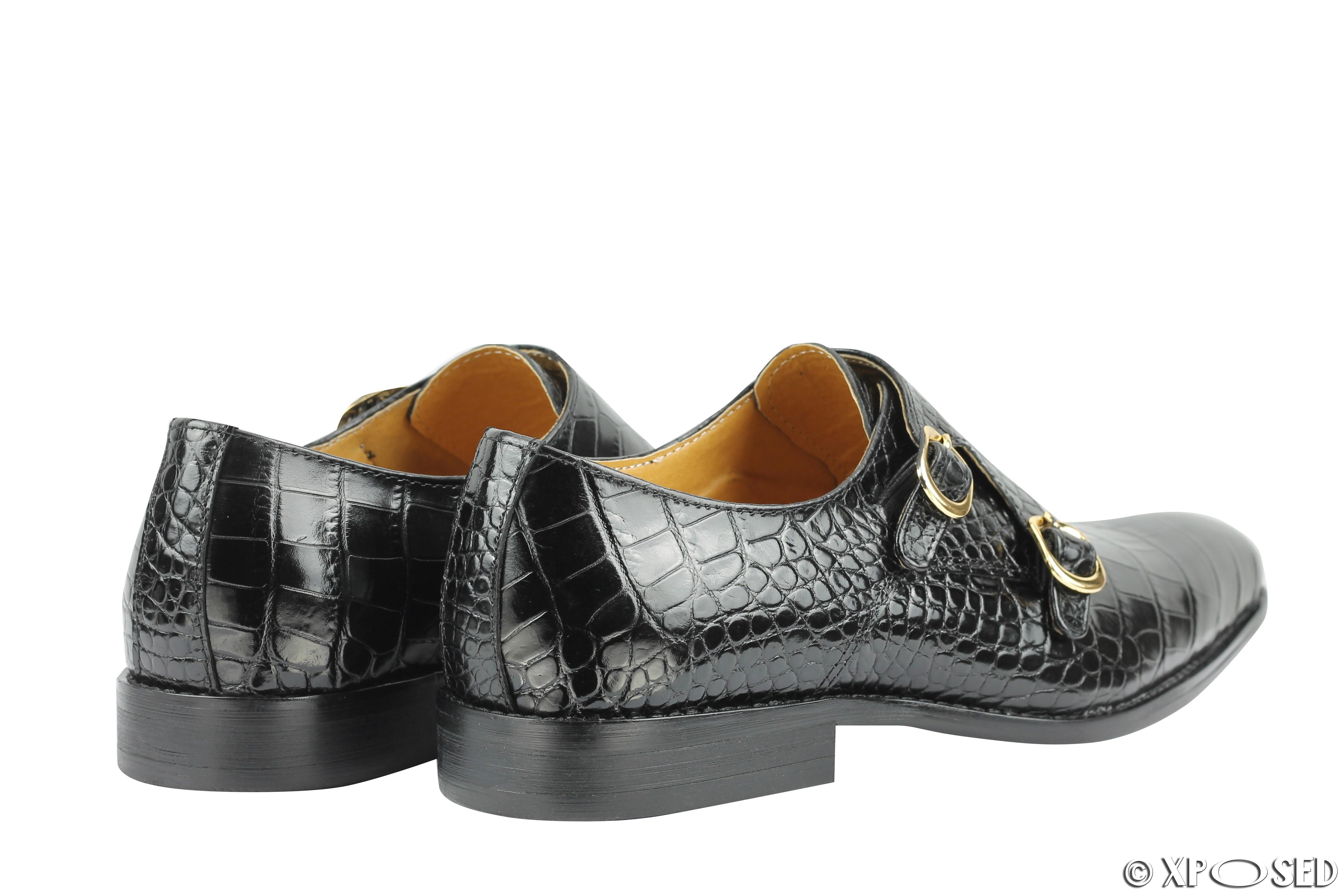 Ladies Monk Strap Shoes