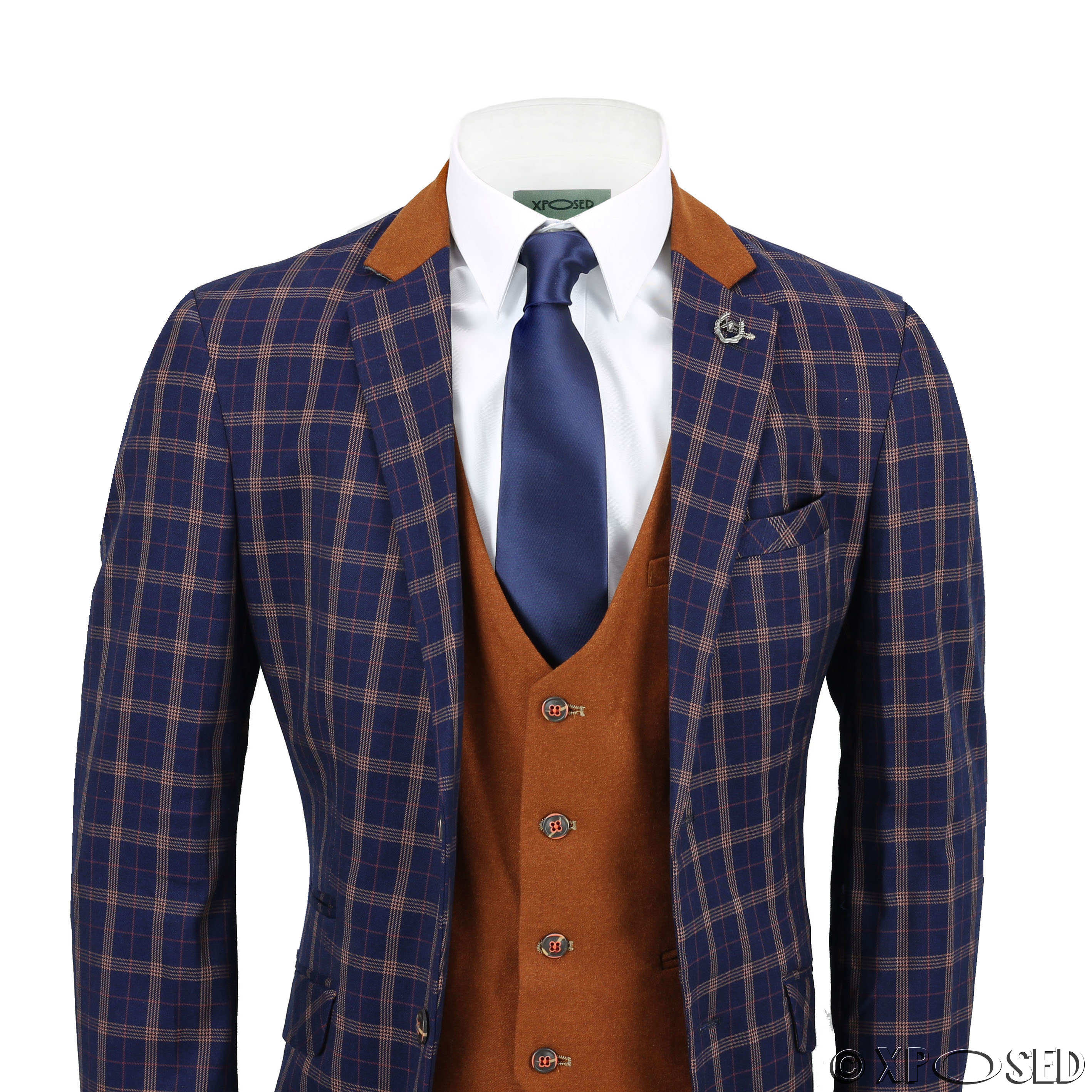 Mar 23,  · 1) Don't try to buy a navy blue waistcoat trying to match the suit. You will fail and look odd. 2) If you wear the coat for business and you are in a industry with more or less traditional dress code, then don't wear the suit with a contrast colored waistcoat.