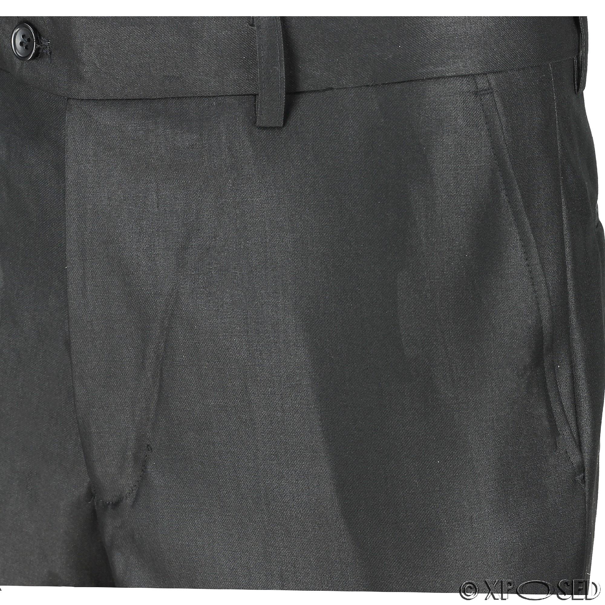 Para-hombre-Traje-de-3-Piezas-Vintage-De-Terciopelo-Negro-Esmoquin-Chaqueta-de-Abrigo-Chaleco miniatura 11