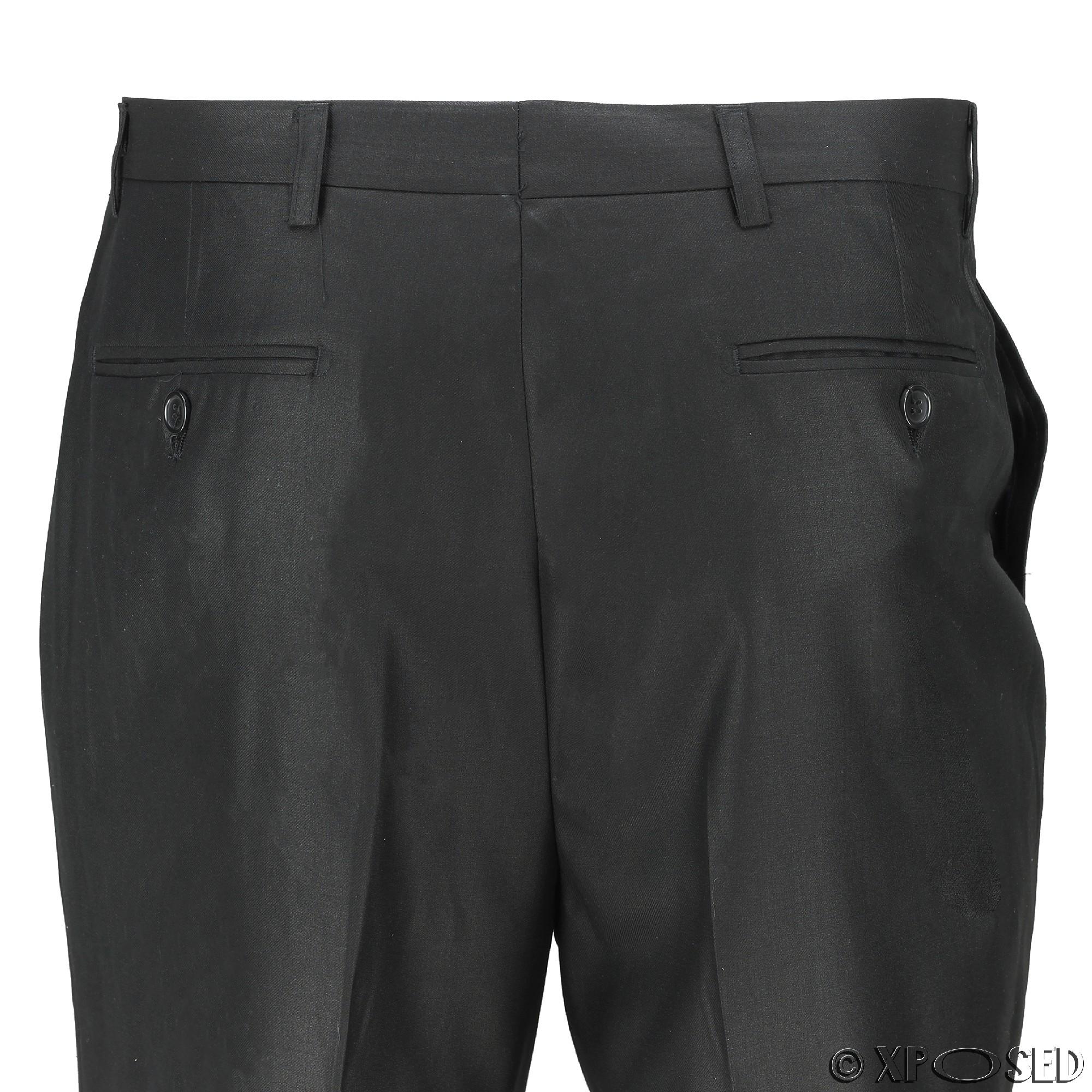 Para-hombre-Traje-de-3-Piezas-Vintage-De-Terciopelo-Negro-Esmoquin-Chaqueta-de-Abrigo-Chaleco miniatura 13