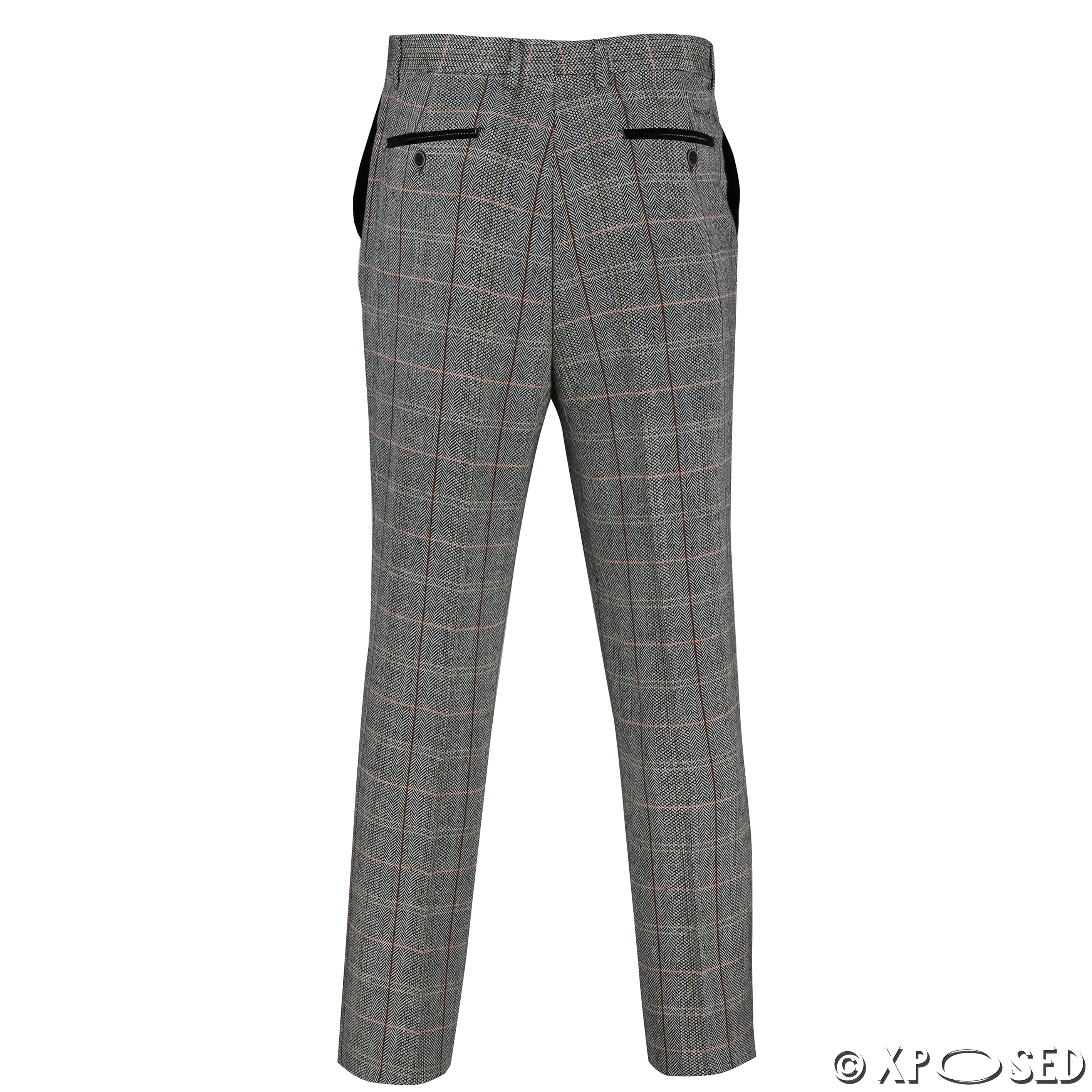 Tweed Pants Mens - results from brands MANUEL RITZ, Isabel De Pedro, Kerrits, products like Chenille Reversible 42