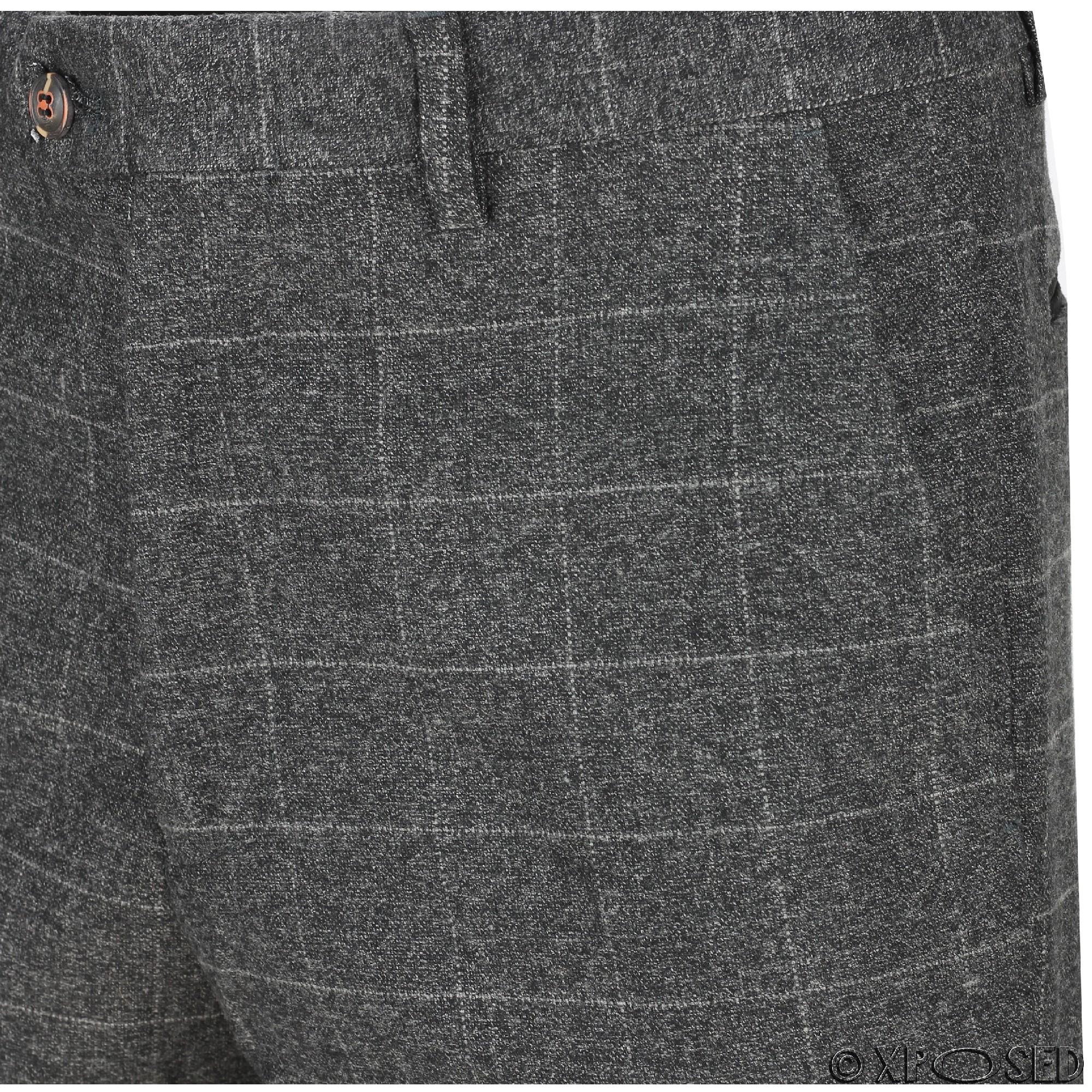 Nuevo-Para-Hombre-Traje-de-3-piezas-de-verificacion-en-gris-se-vende-por-separado-Chaqueta miniatura 7