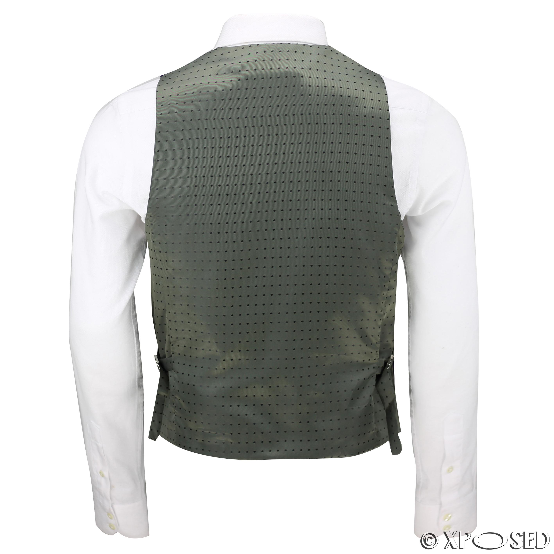 Mens-Purple-Velvet-Vintage-3-Piece-Suit-Tuxedo-Blazer-Coat-Waistcoat-Trouser thumbnail 23